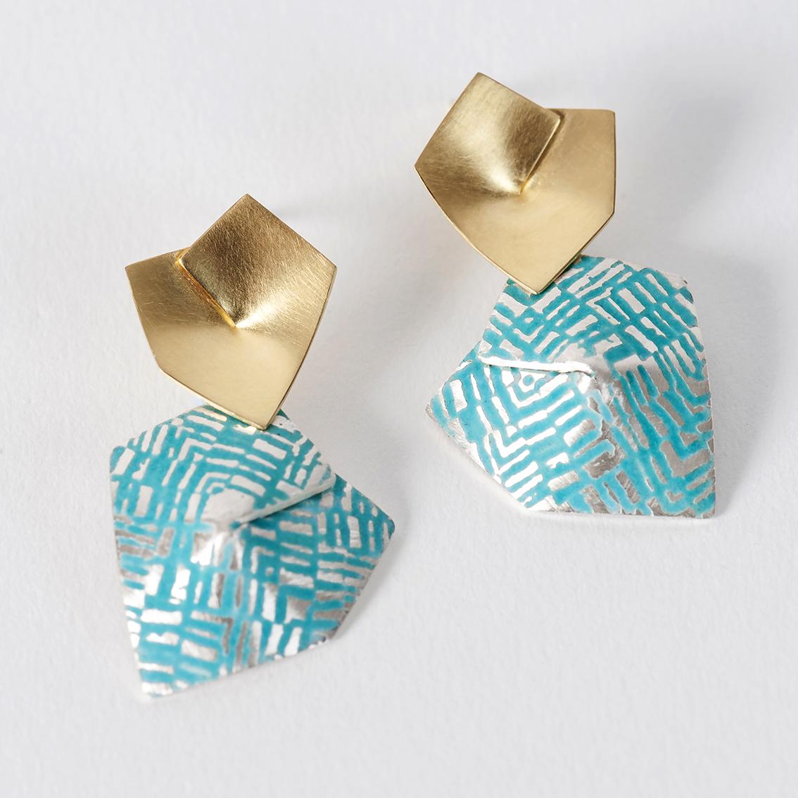 'Weave' Earrings