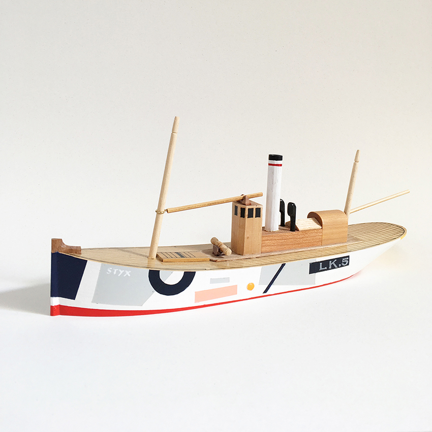 Tom Pigeon Boat