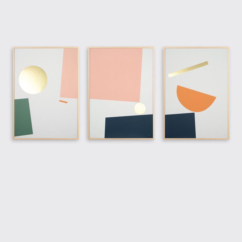 Tom Pigeon Balance Prints