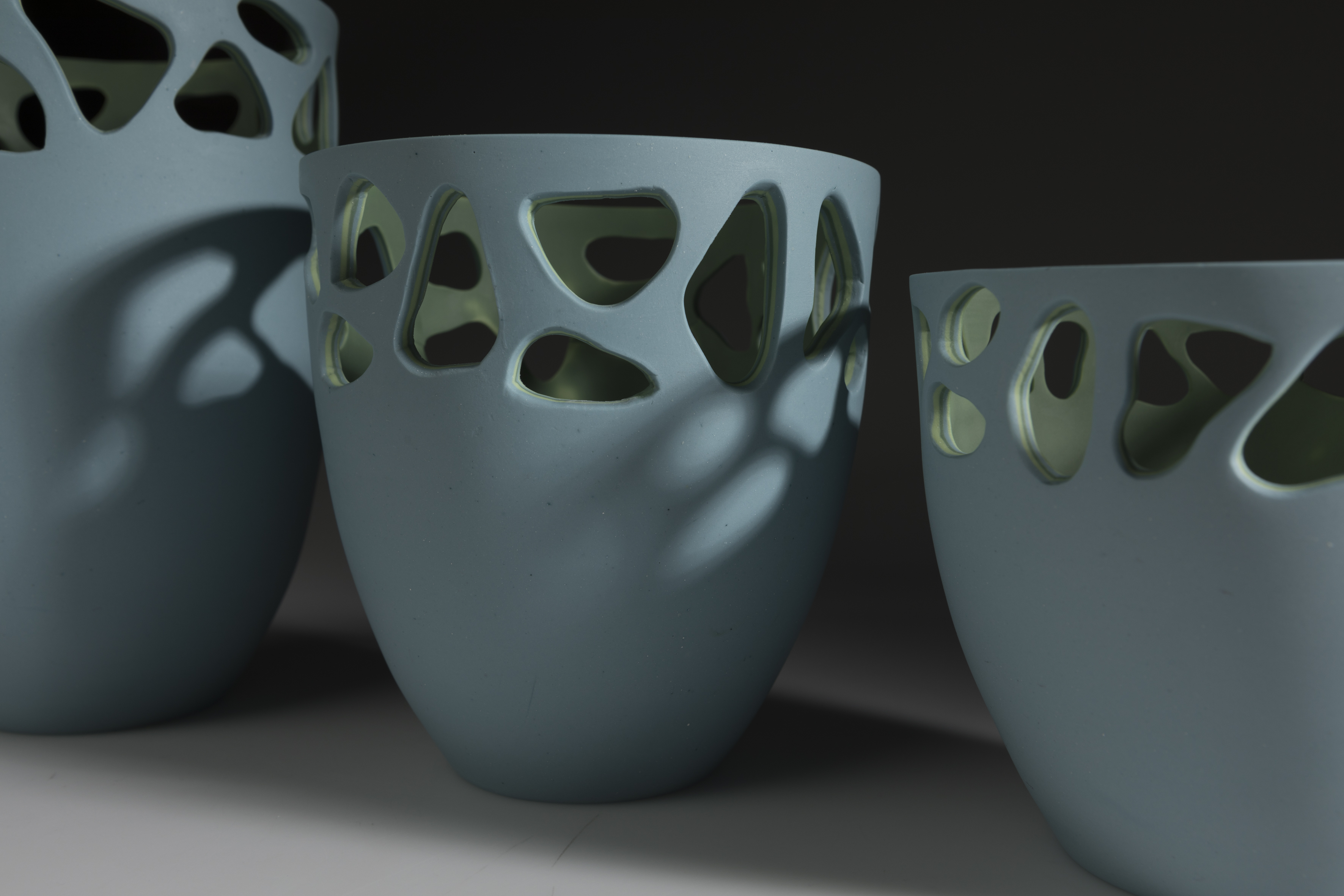 Stratis Collection - Blue Vessels Close up