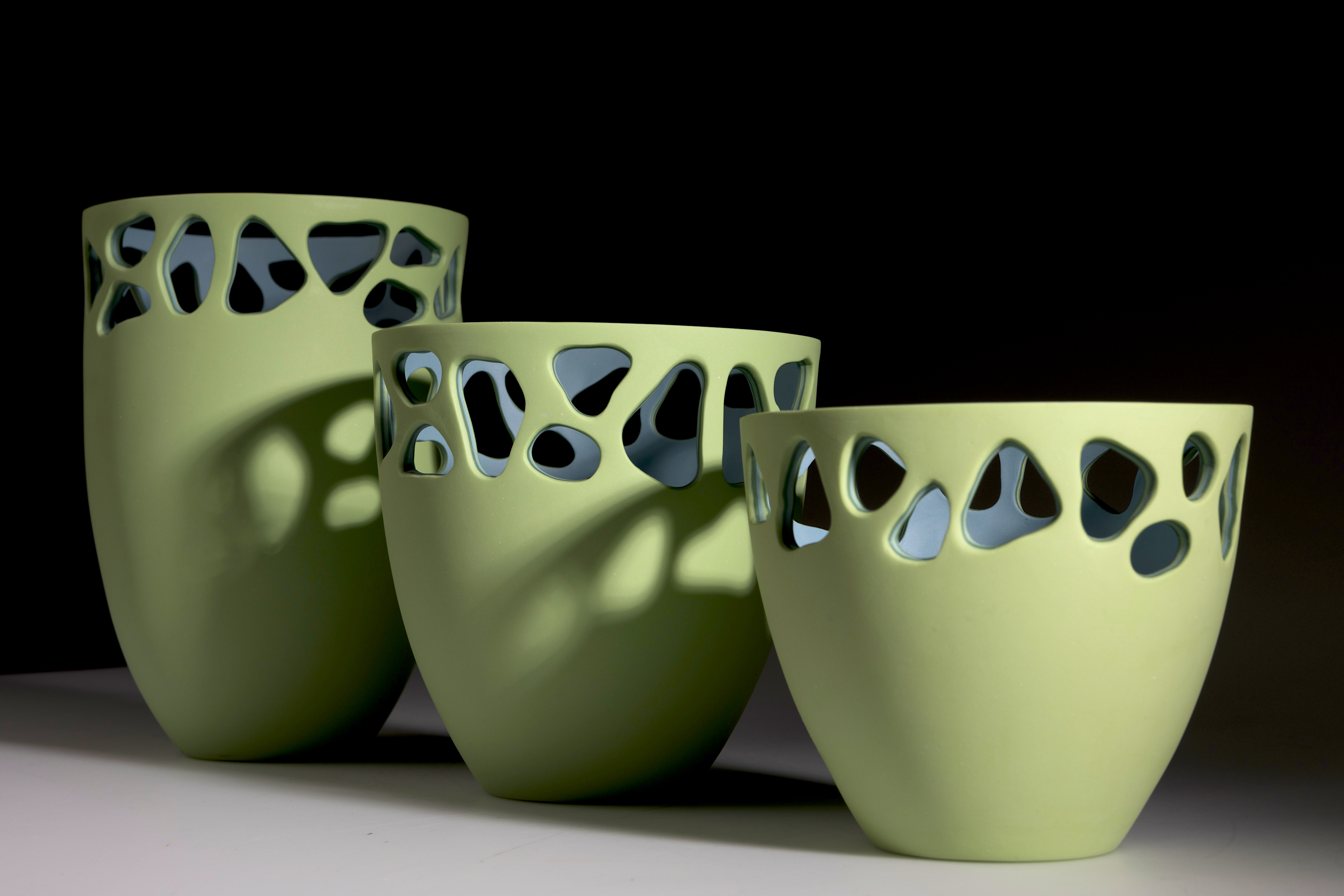 Stratis Collection - Light Green Vessels