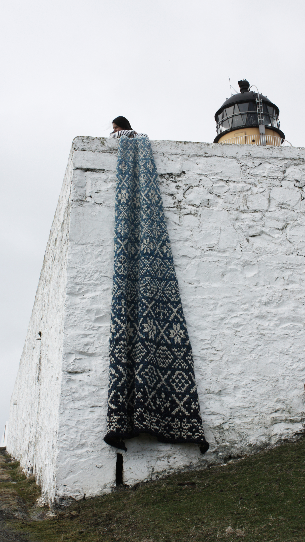 27 shades of Shetland Blues
