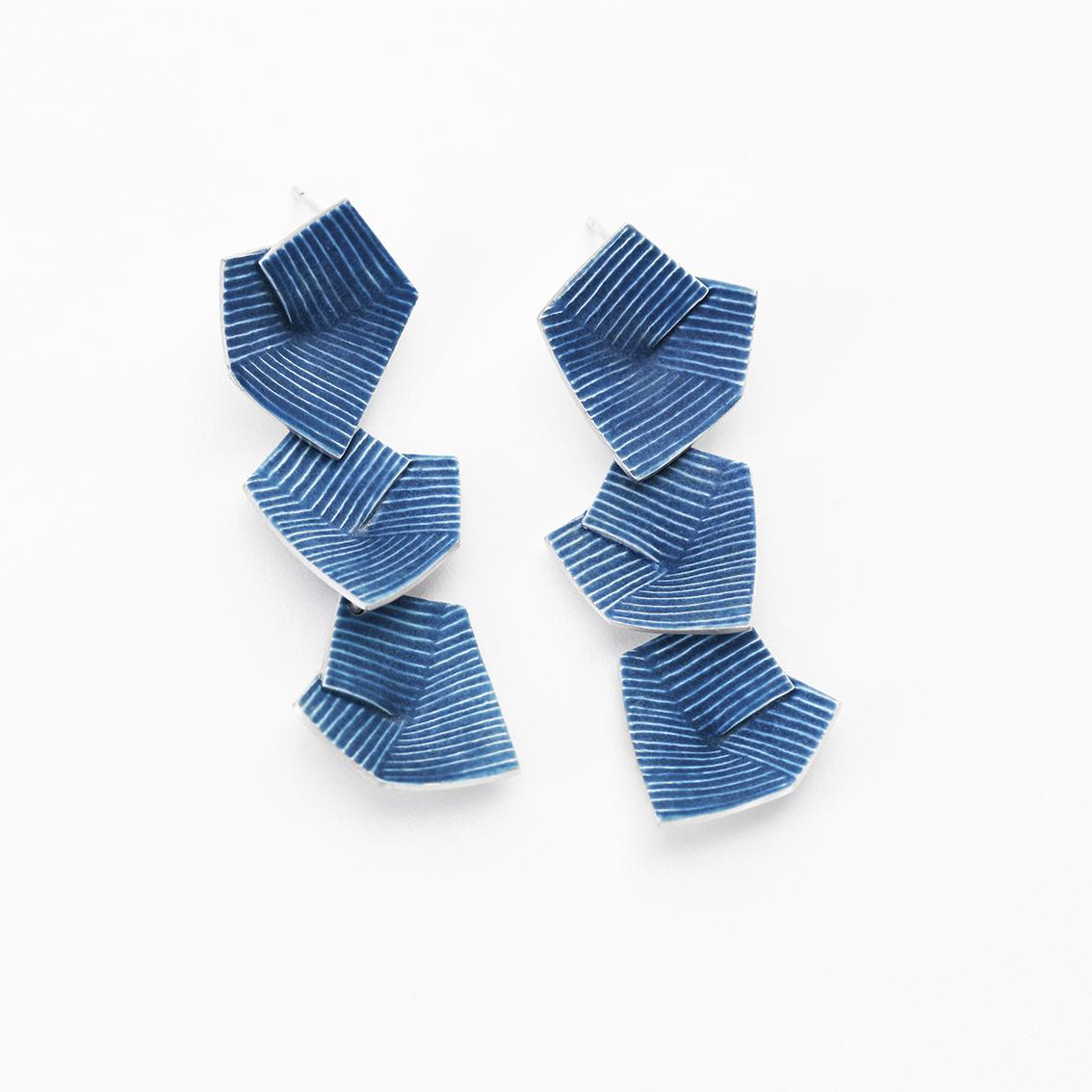 'Lines in Motion' Earrings