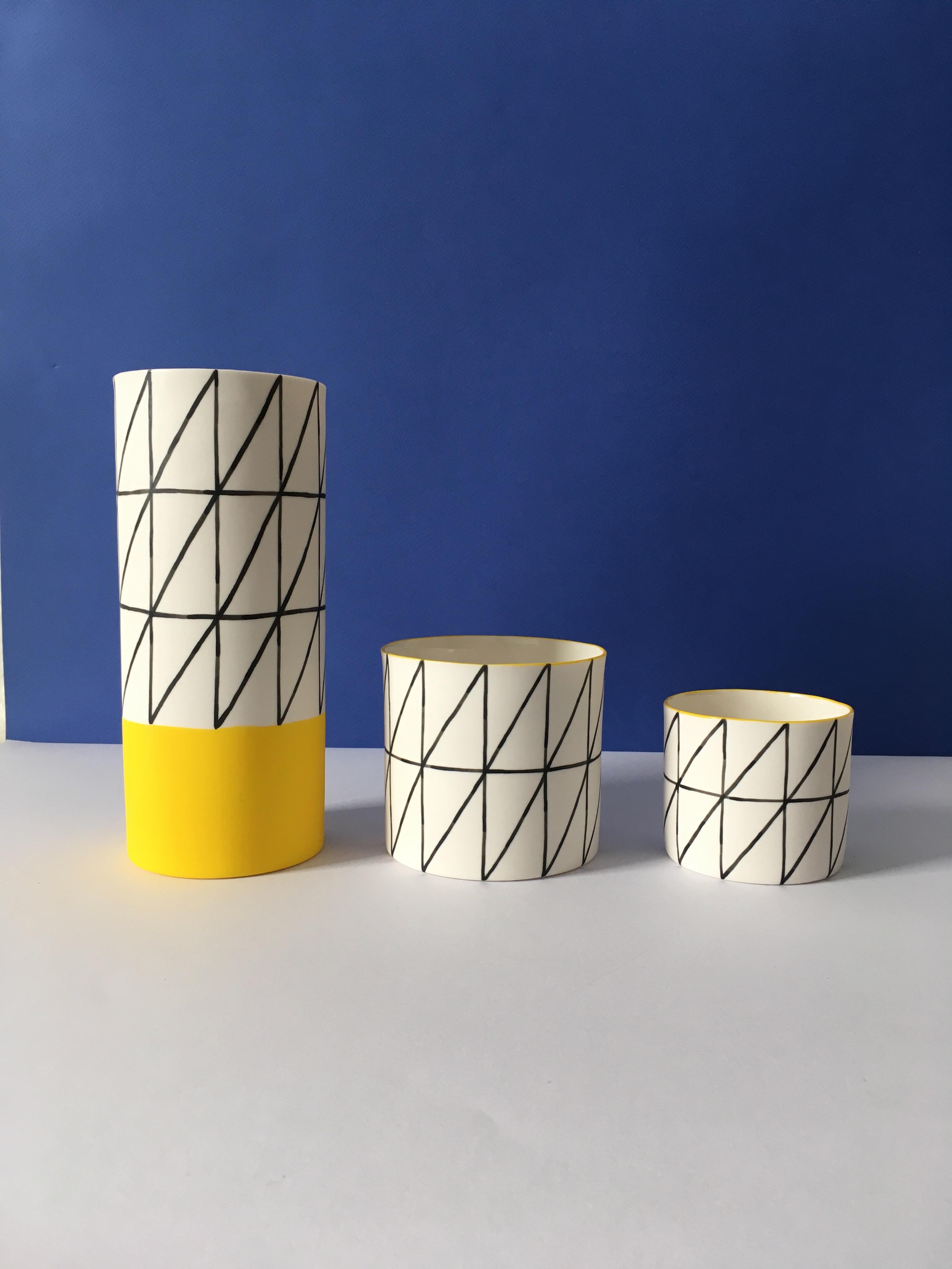 TOFU Mini-Collection - Long Vase, Big Pot, Mid Pot