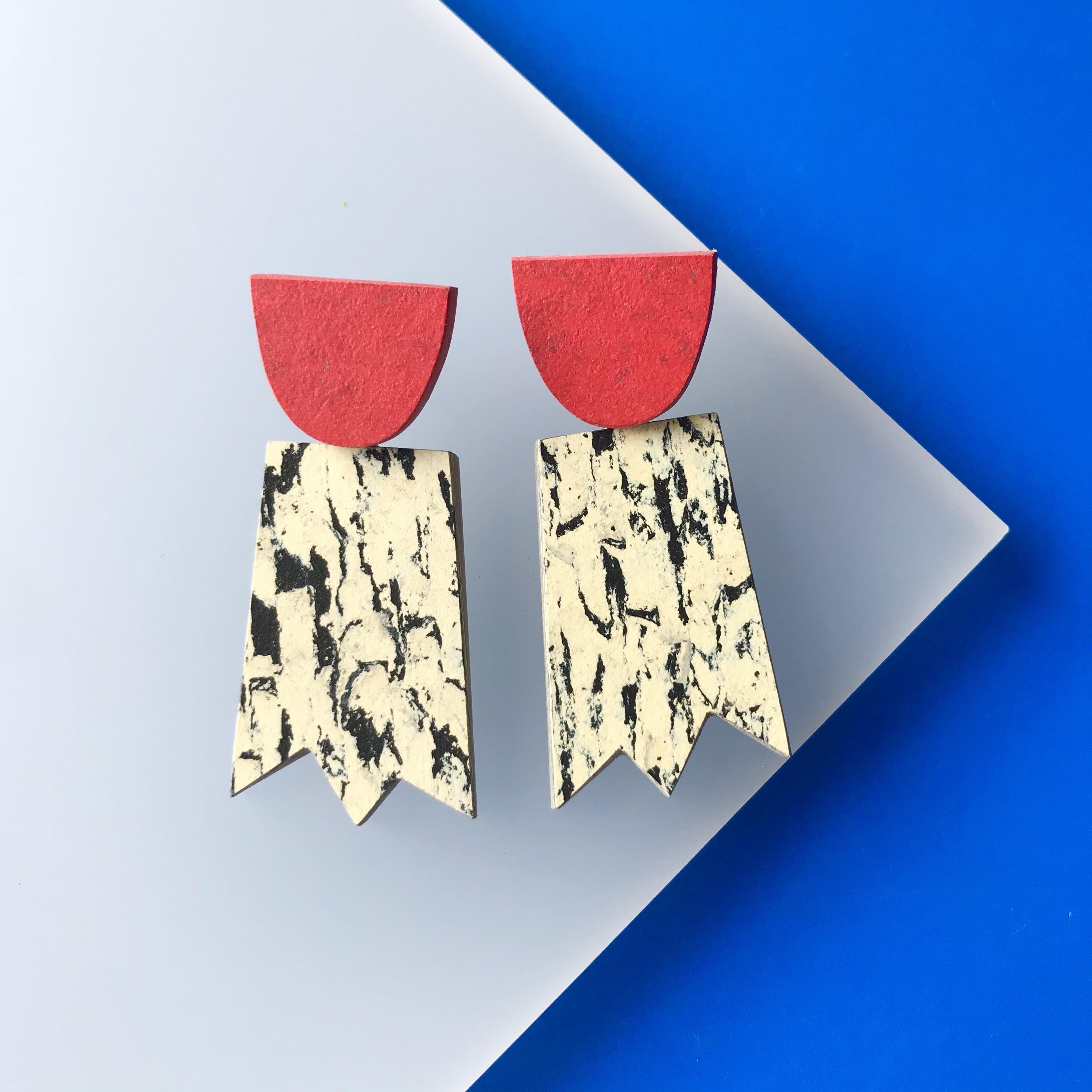 Roslyn Leitch - Ghost earrings