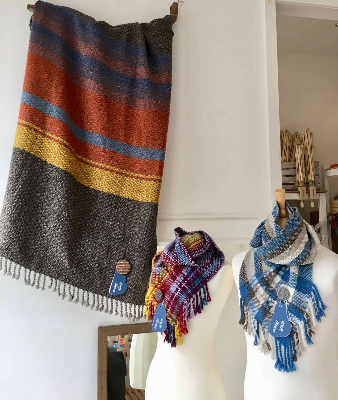Handwoven Blanket and Cowls at Weft Blown/>               </div>               <div class=