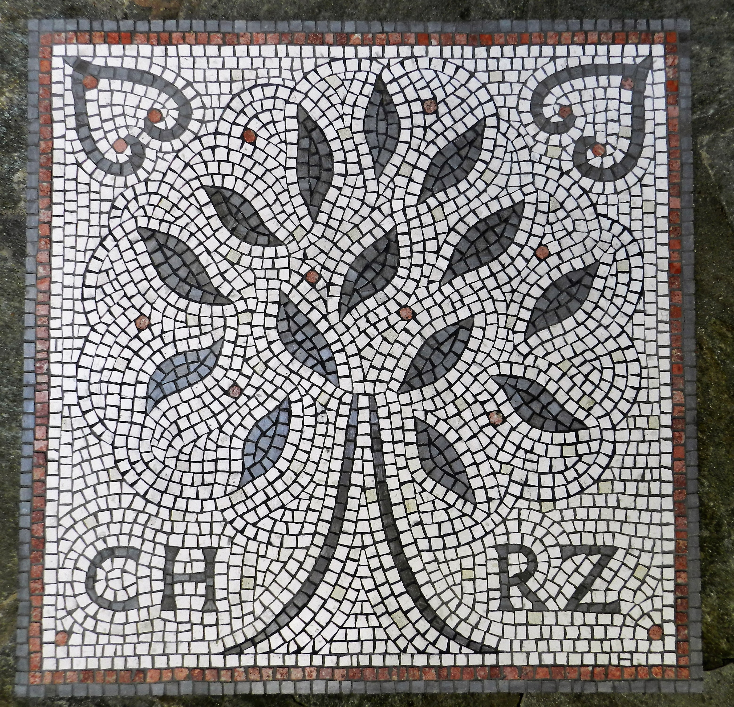 Wedding Mosaic