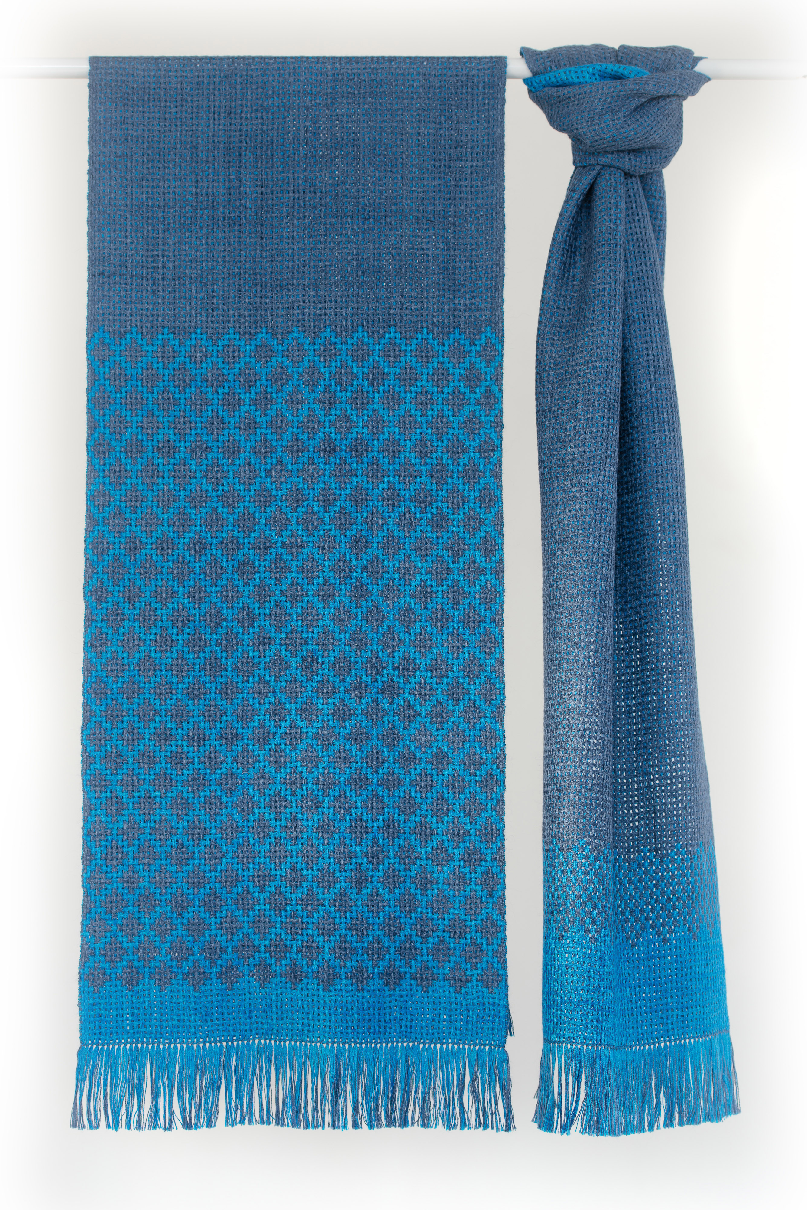 Urban Shorescape over-sized scarves, Waterfront Collection