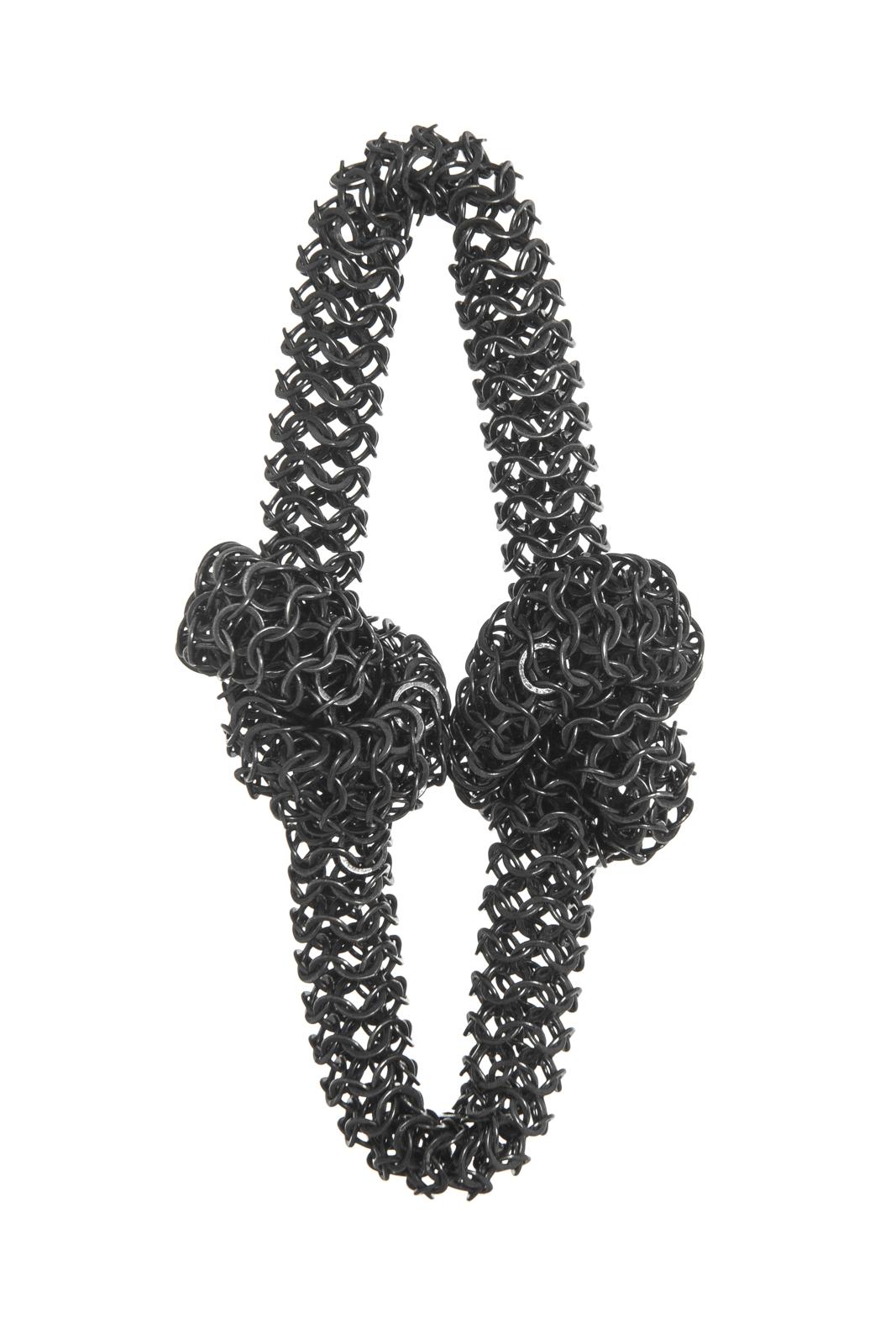 Linton bracelet, oxidised silver