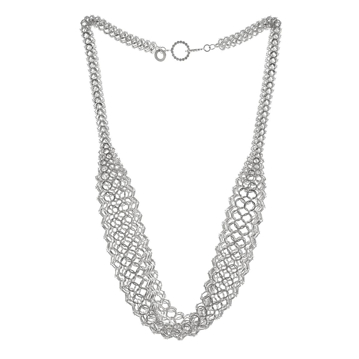 Leys necklace, silver
