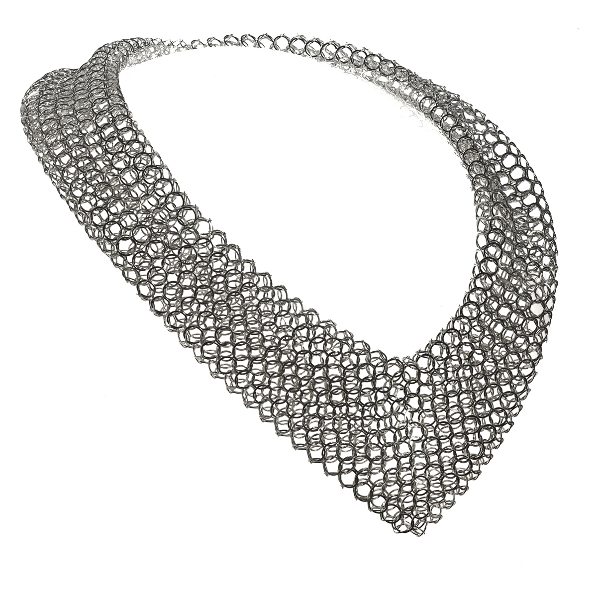 Ewin necklace, silver
