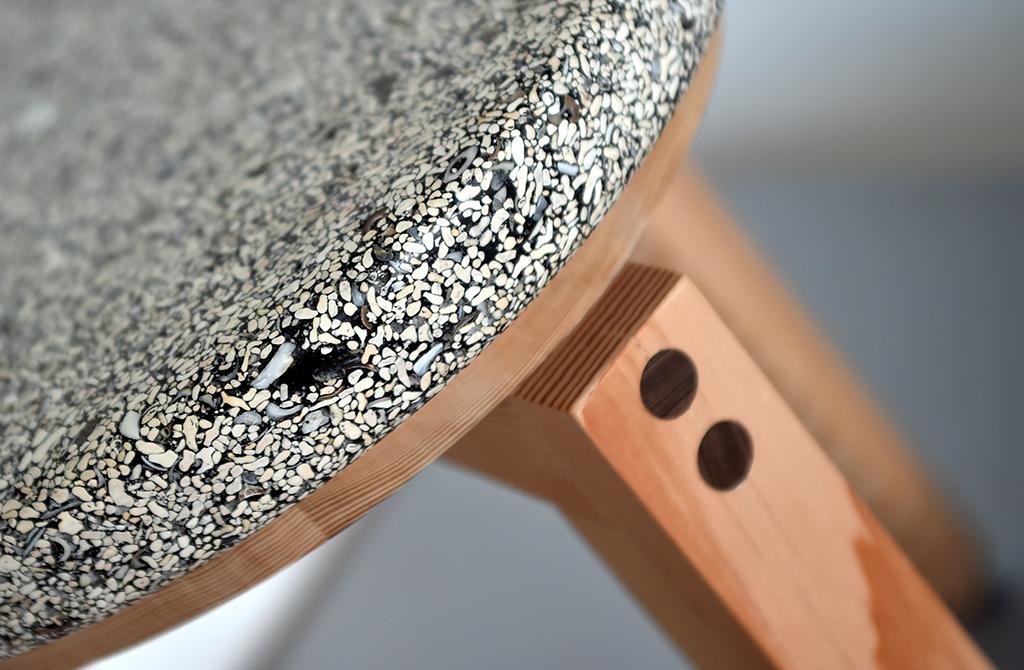 Maerl Stool Detail