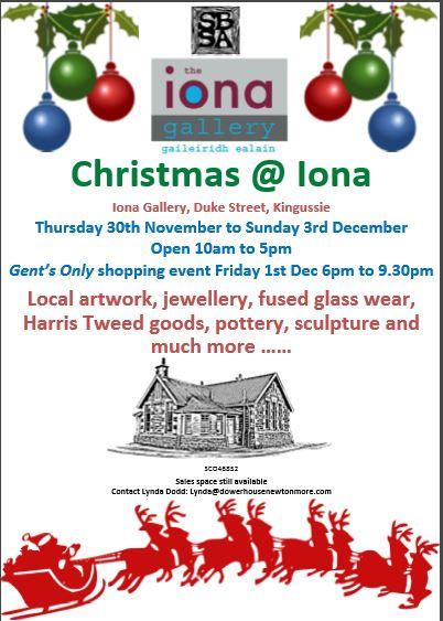 Christmas @ Iona Gallery