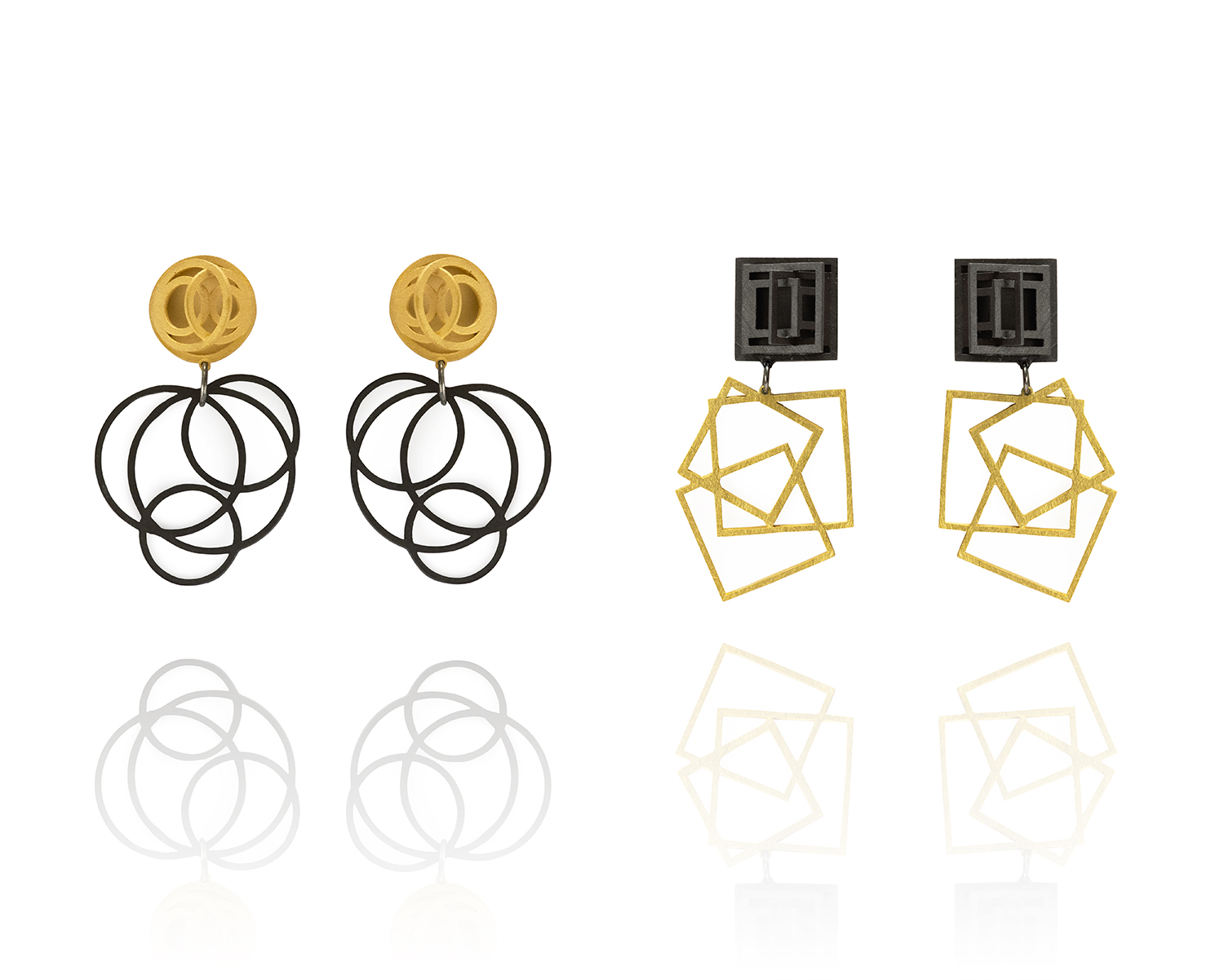 Chaos Rising statement earrings