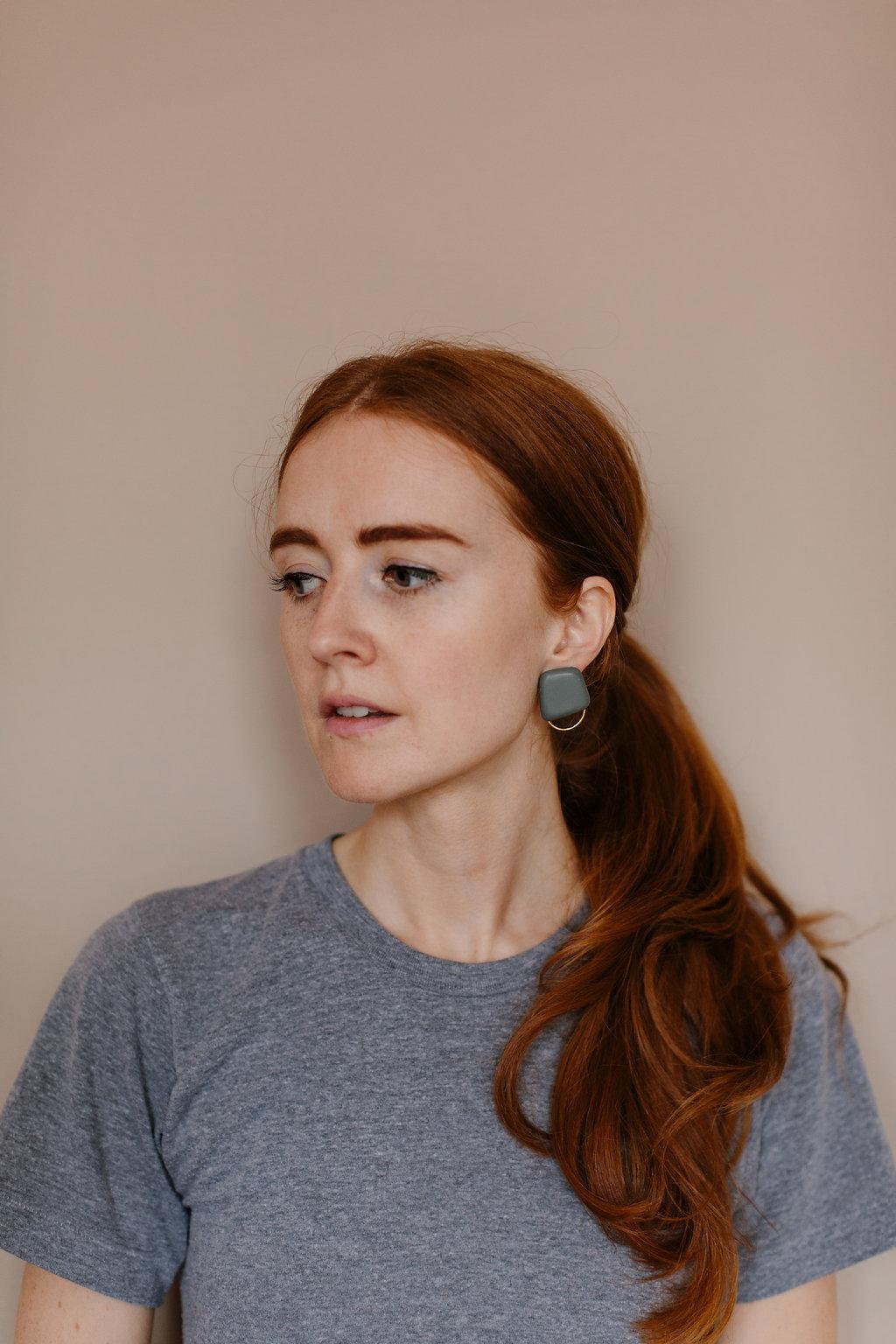 Gomme Gold Earrings