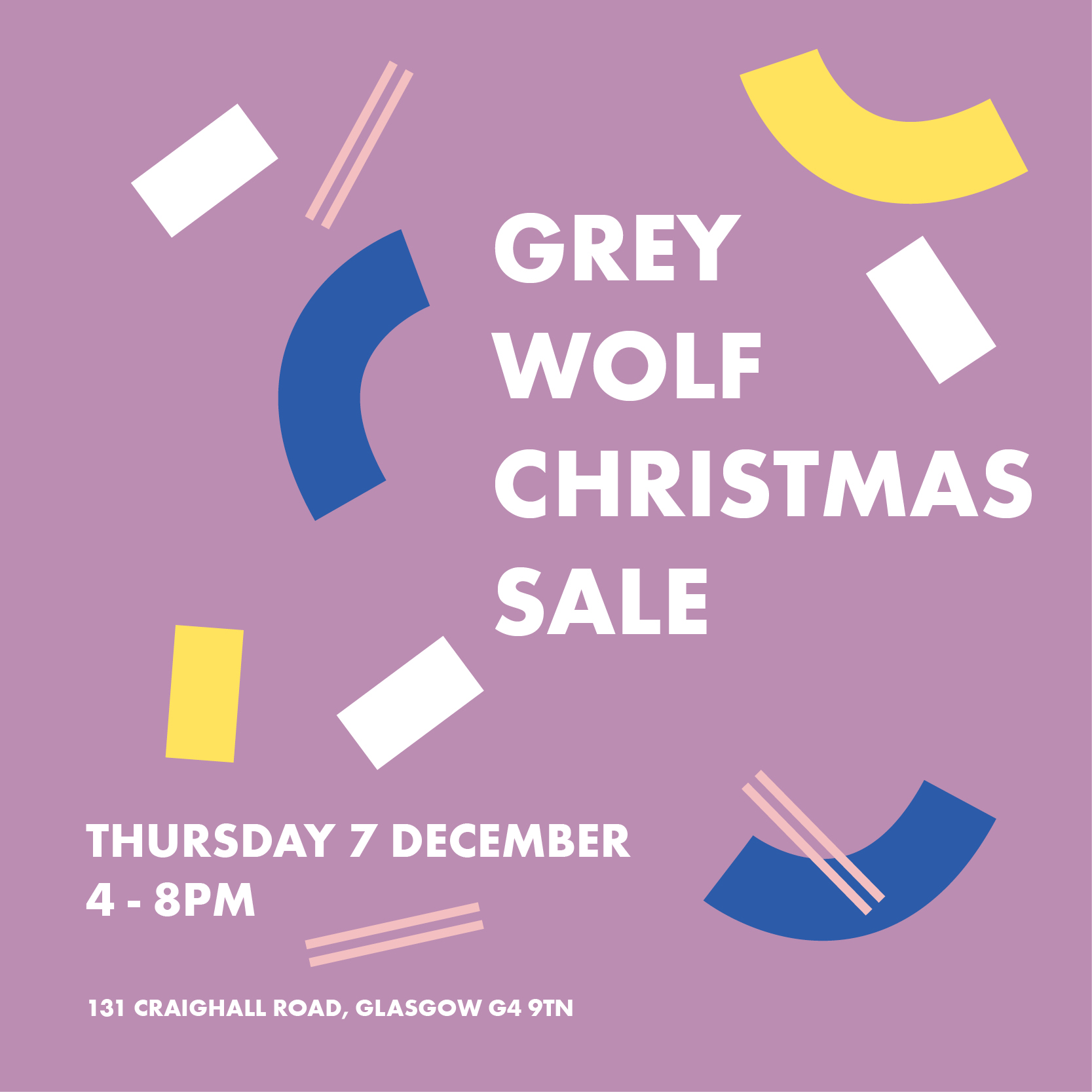Grey Wolf Studios Christmas Sale