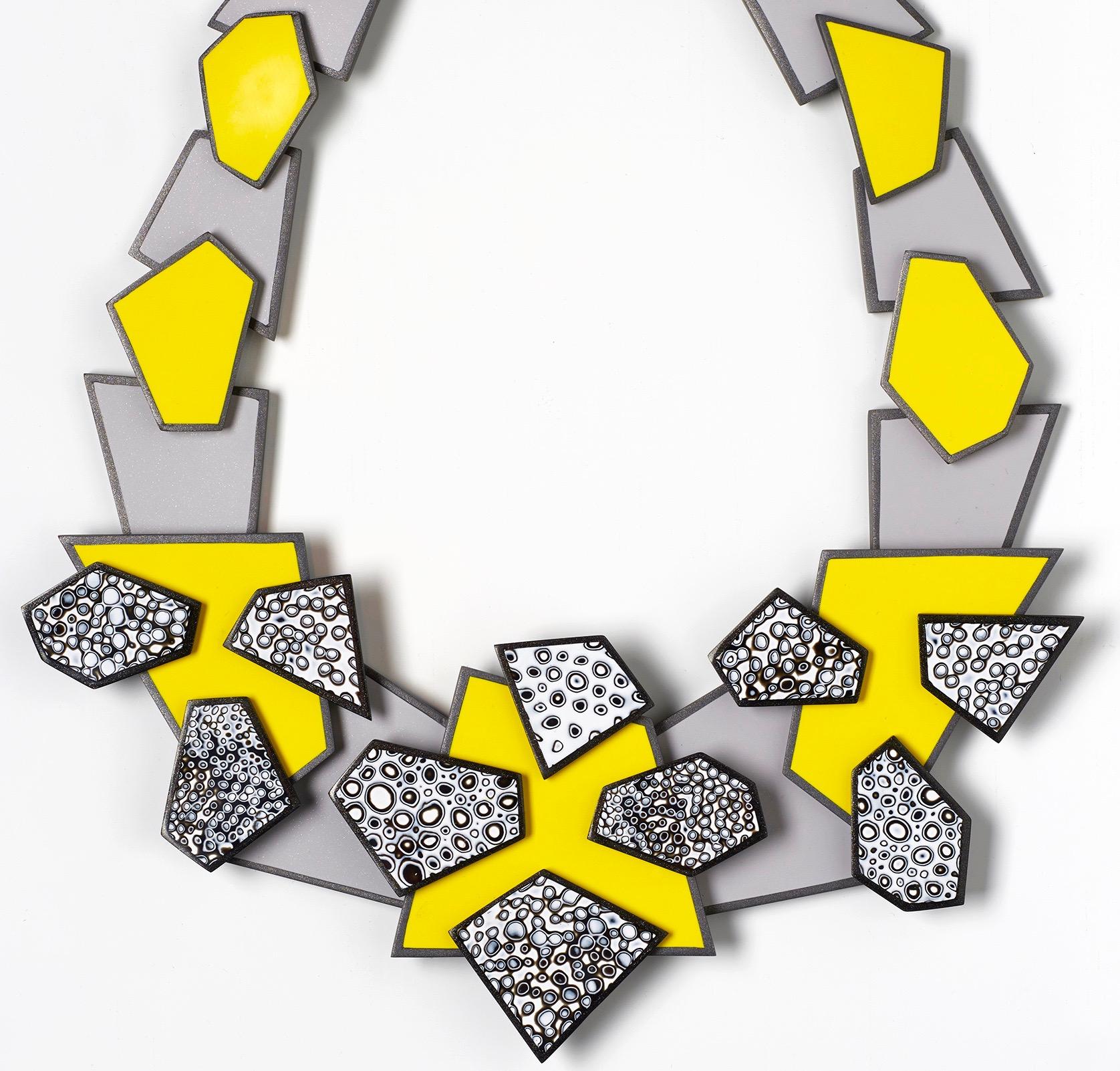 Lemon Mono Bubbles Necklace