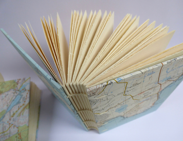 Map Covered Books