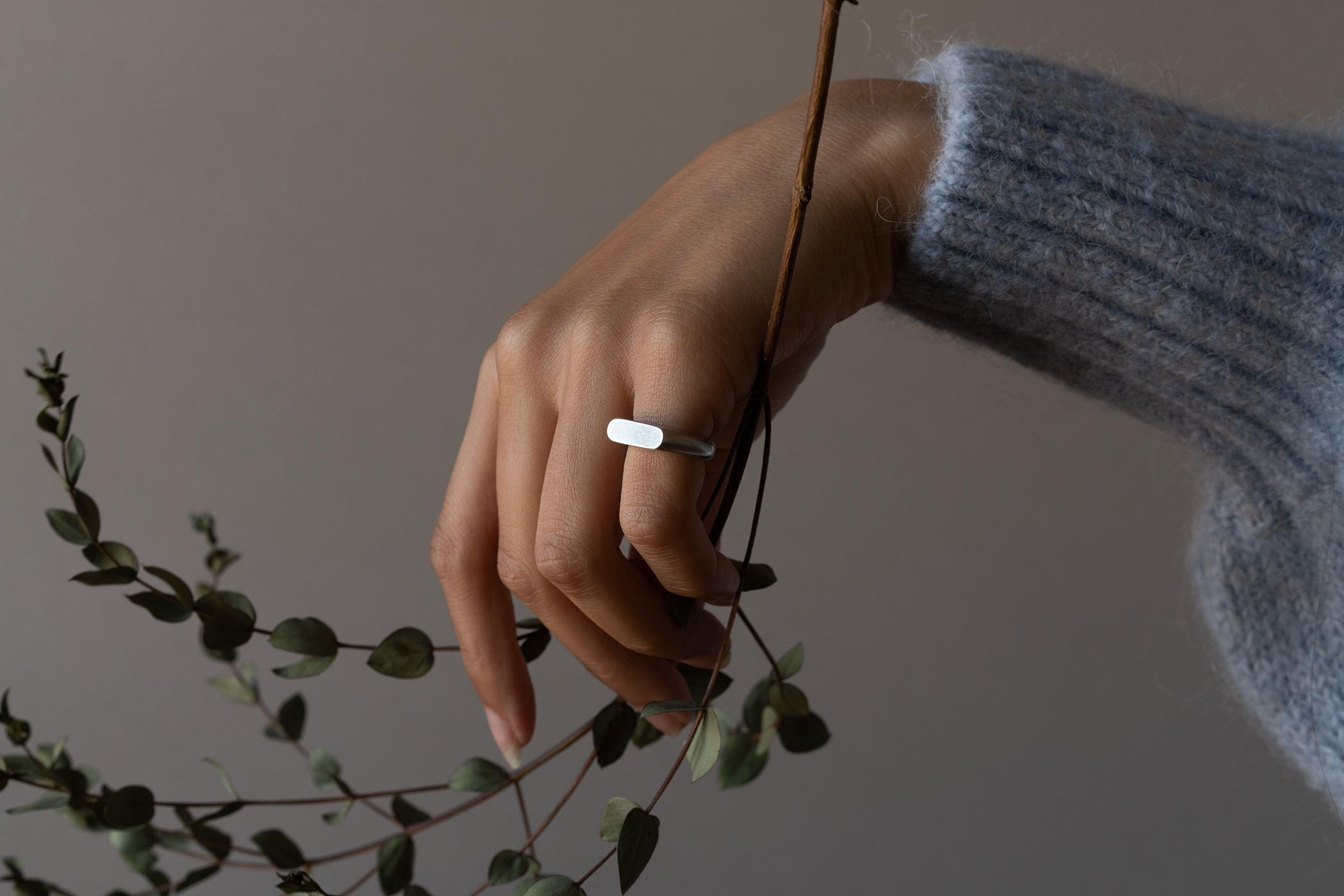 Pill Signet Ring