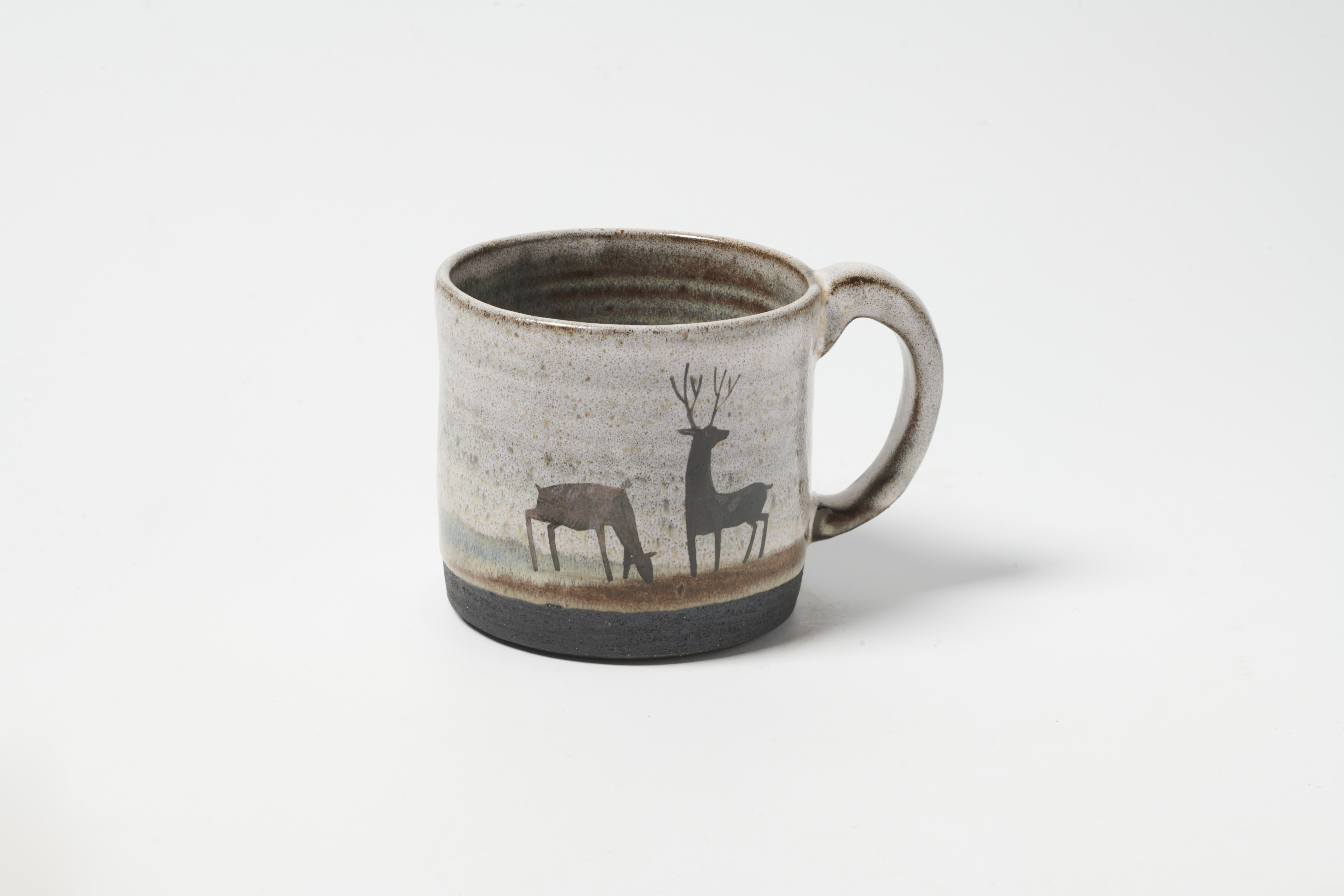 Grazing Deer Mug