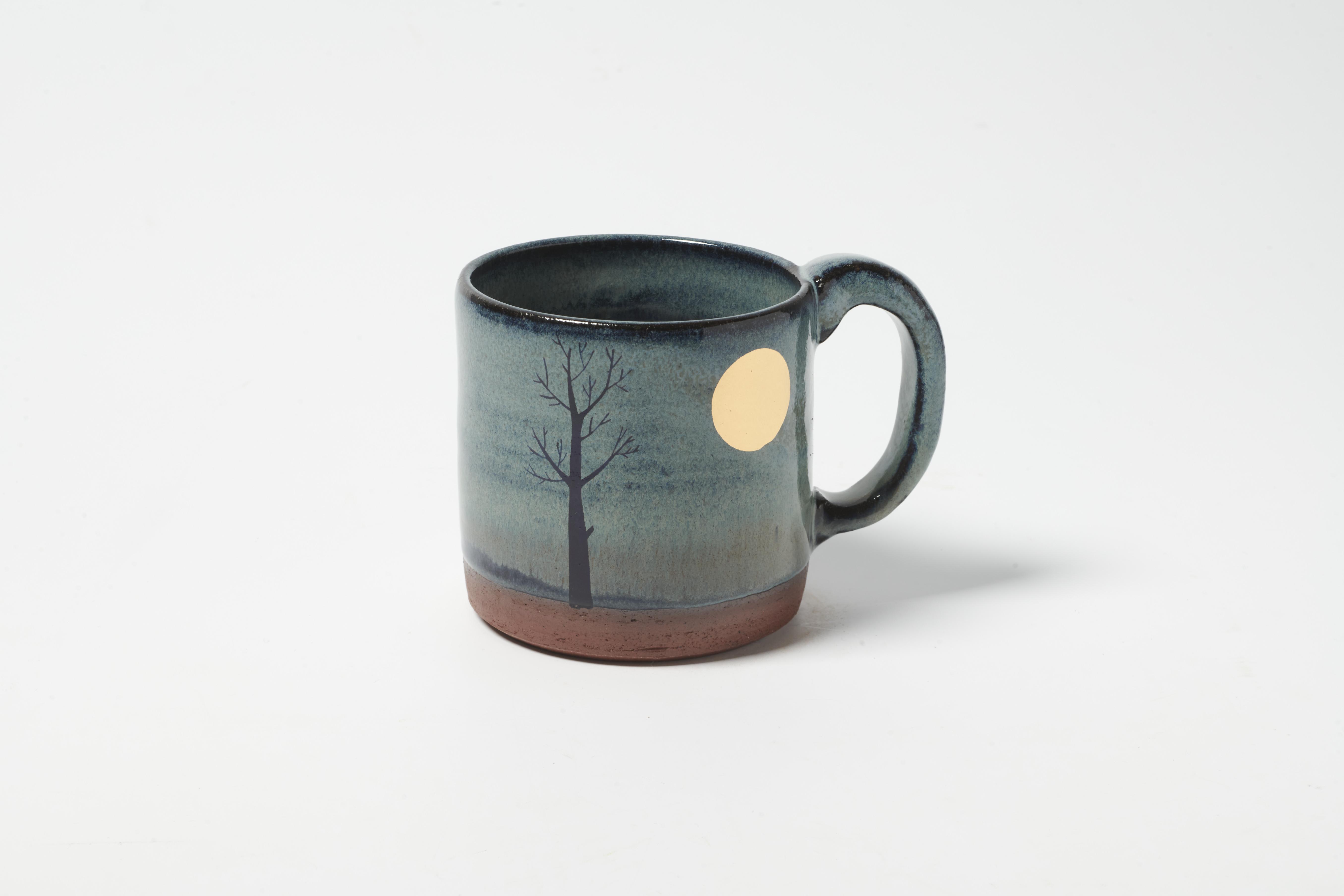 Gold Moon Mug