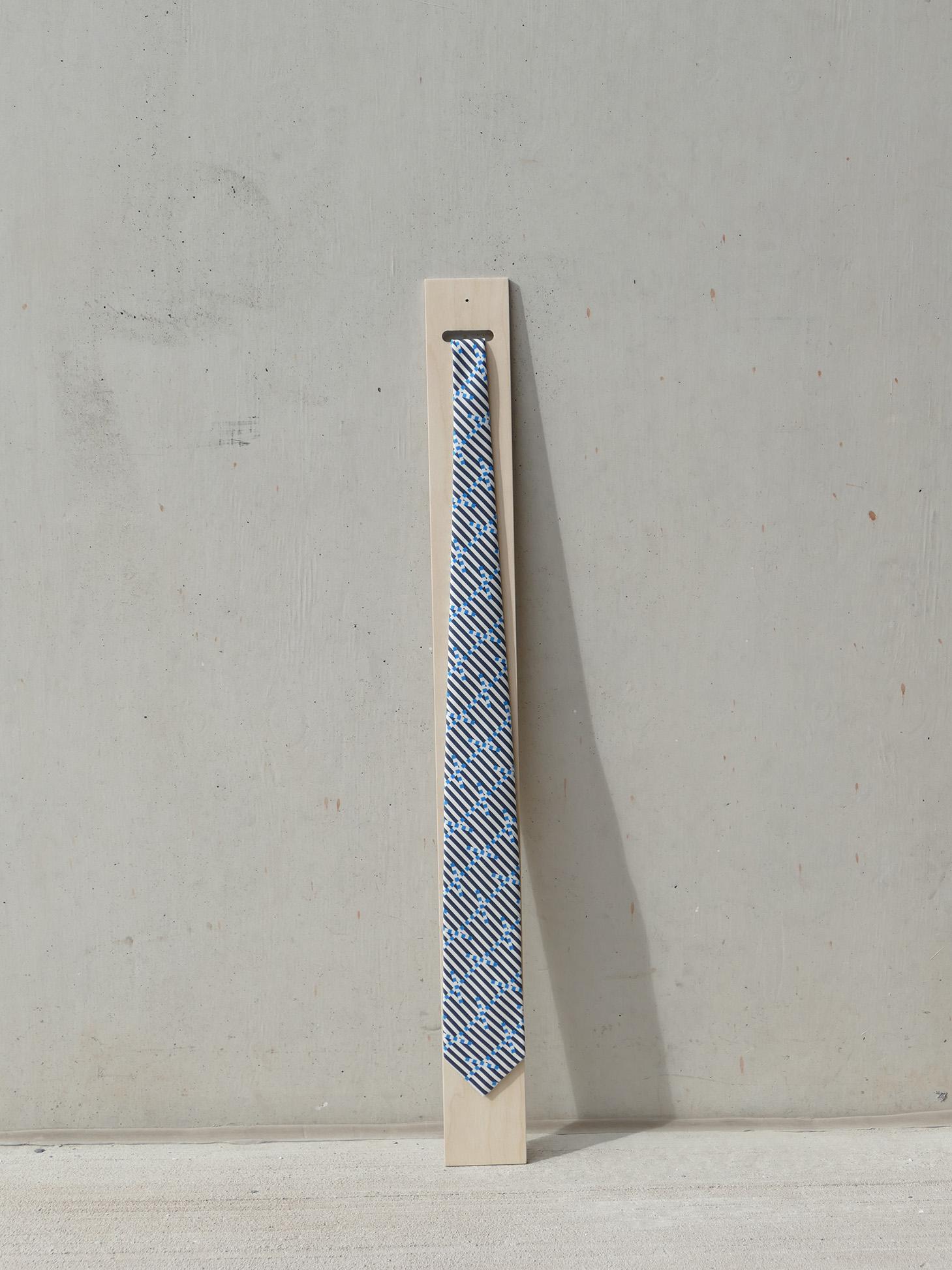 Breton Signal Silk Tie