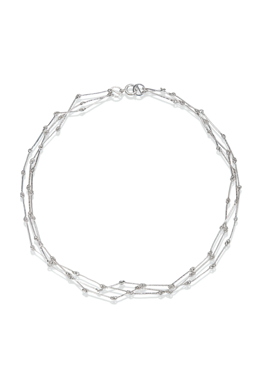 Linked Wire Necklace
