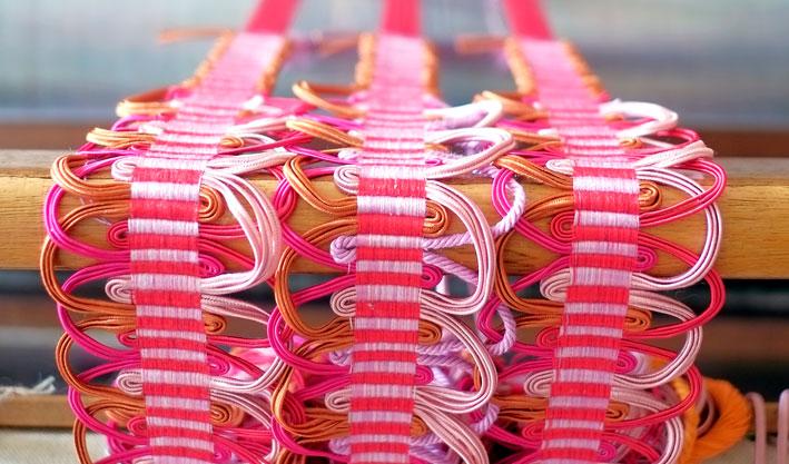 Passementerie Weaving with Elizabeth Ashdown RCA