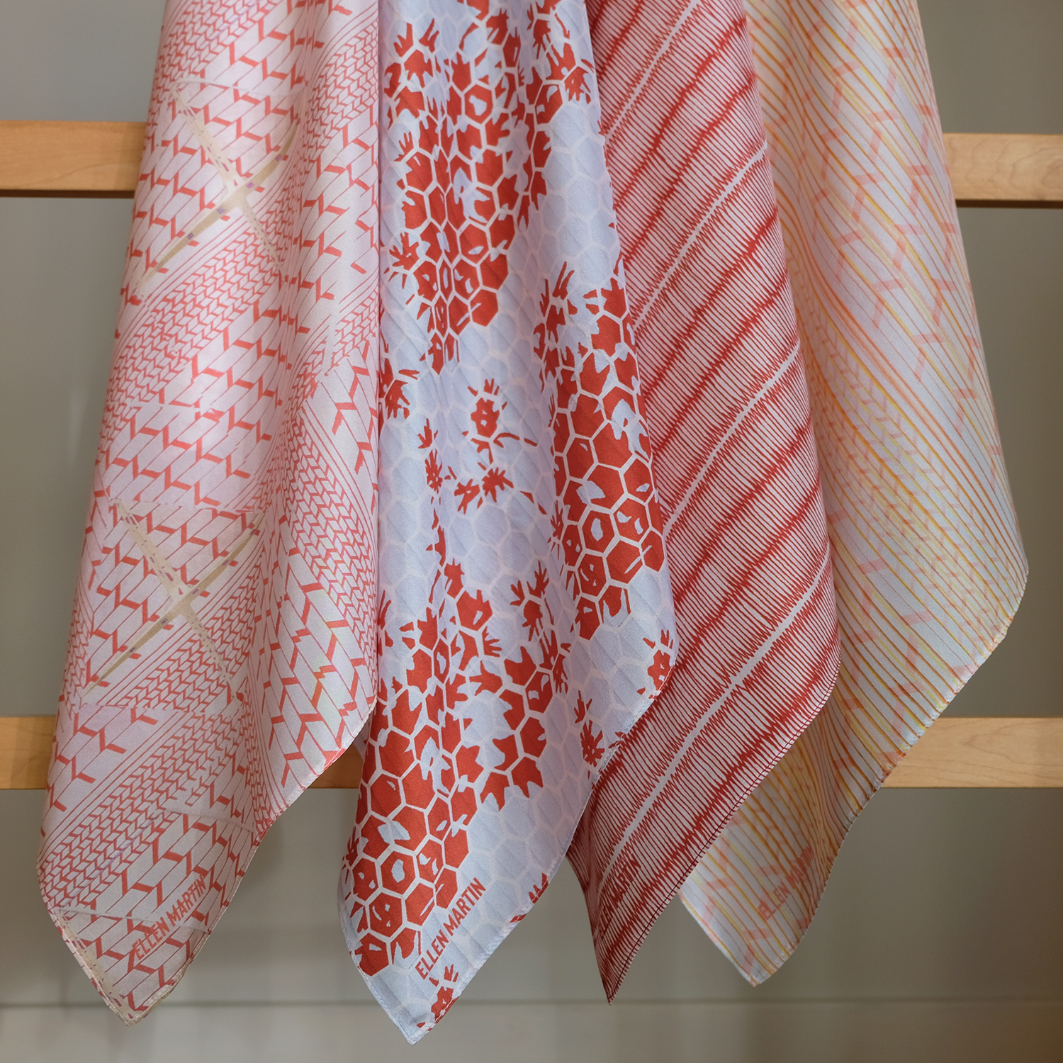 Kyoto Collection Printed Silk Scarves