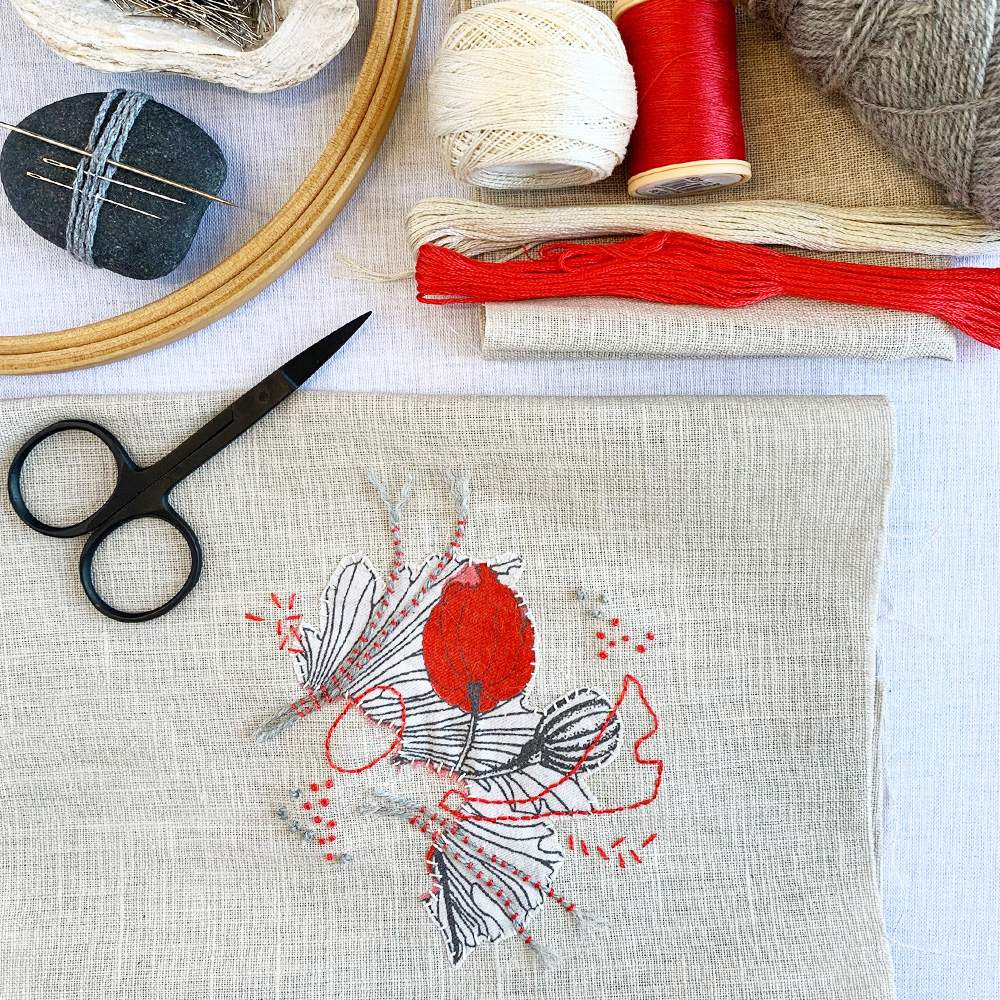 'Drawing with Stitch' - 6 week online course