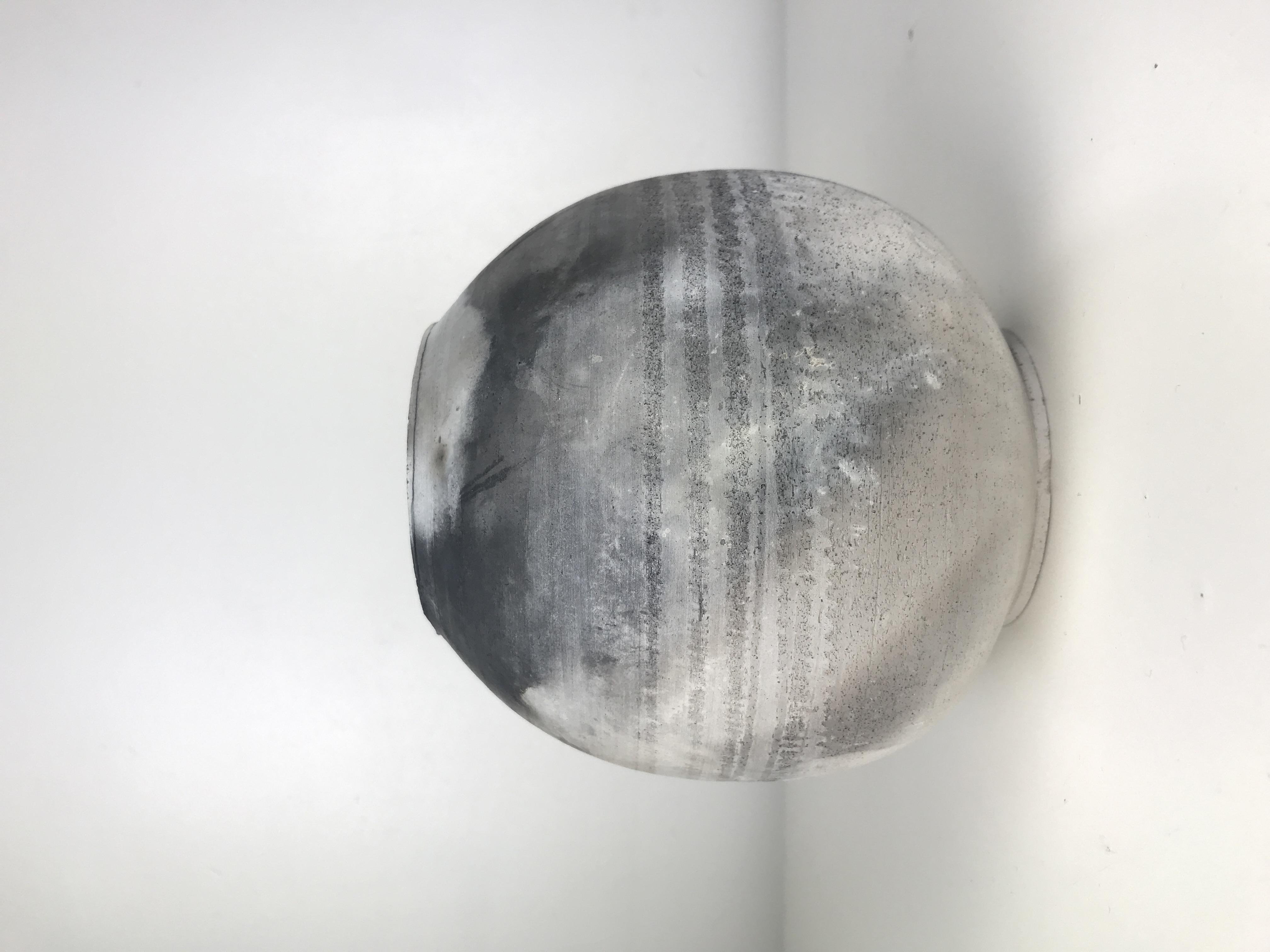 Smoked Moon Jar