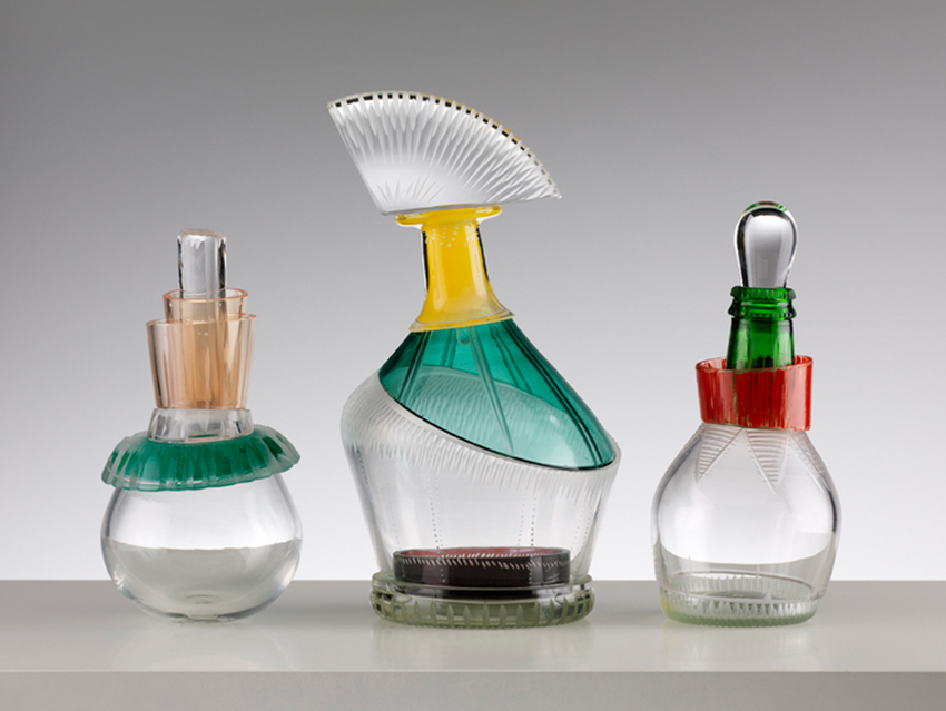 A photograph of three glass objects by maker Juli Bolanos-Durman