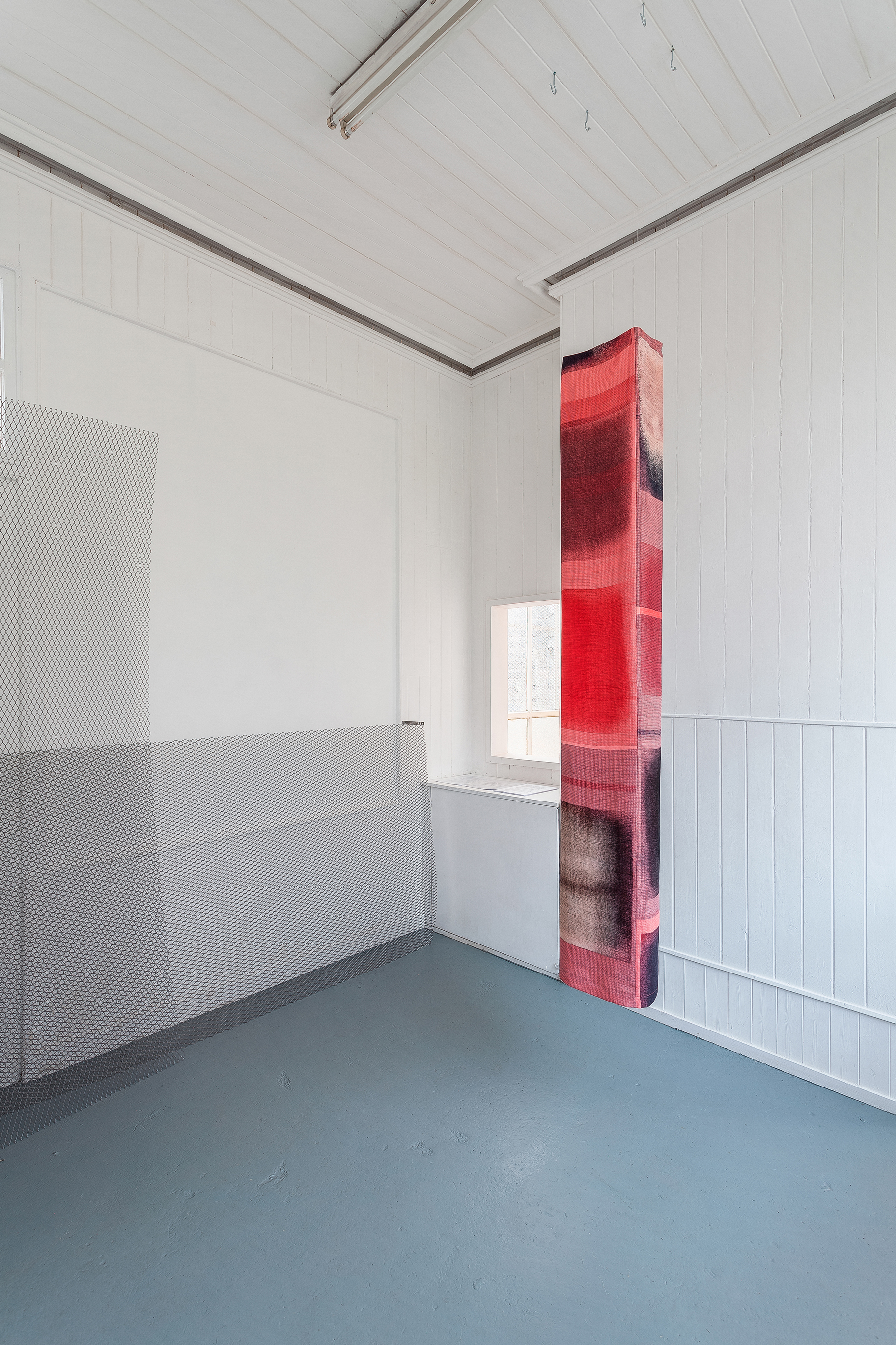 Untitled; part of 'Hum' exhibition, Queen's Park Railway Club, Glasgow with Claire Barcl