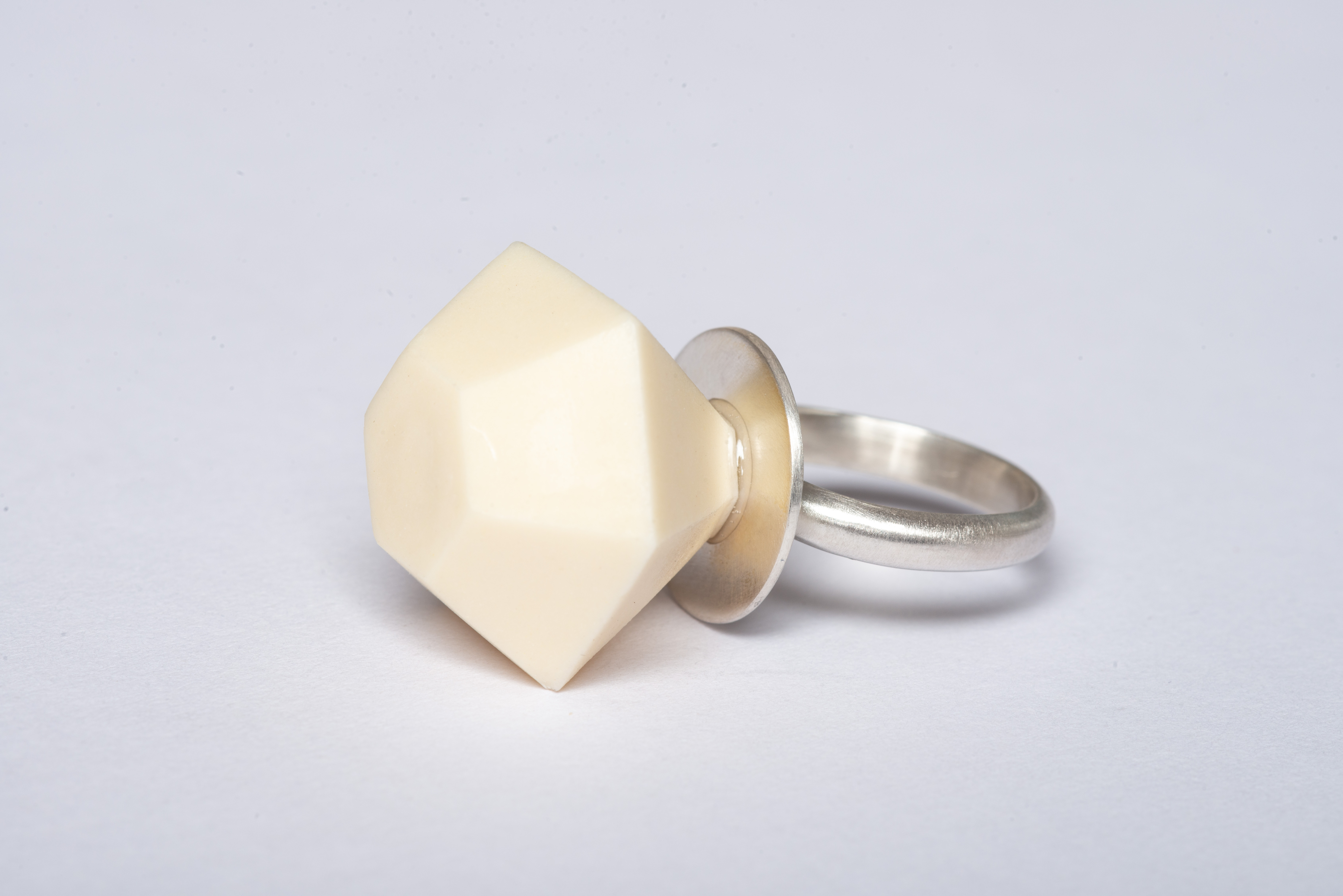 Mega Ring Pop - Lemon Yellow