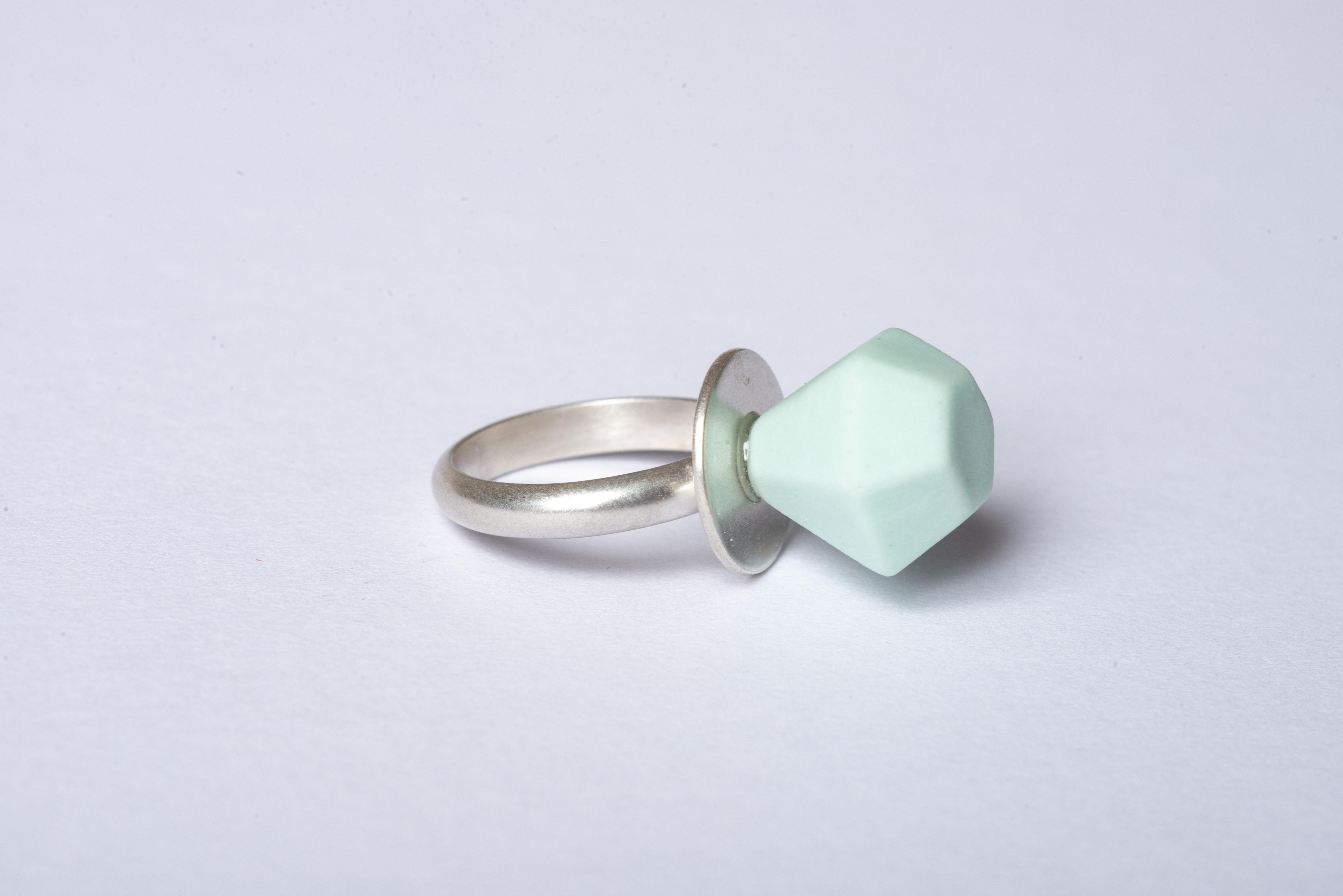 Mini Ring Pop - Mint Green