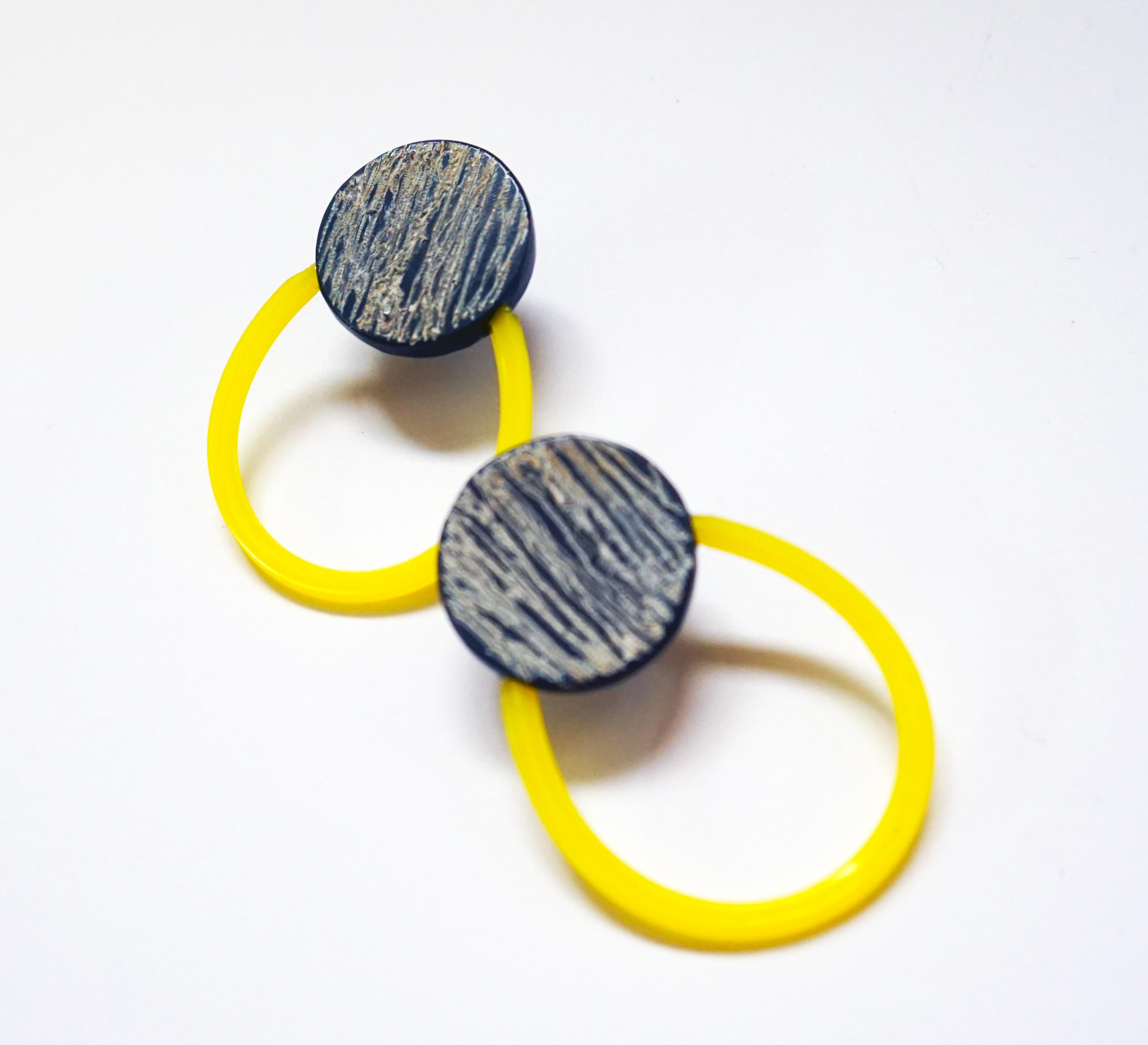 Ultimate Sunshine Yellow Hoop Earrings