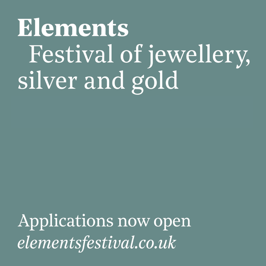 Elements: Festival of Jewellery, Silver and Gold 2021 Applications Image #0