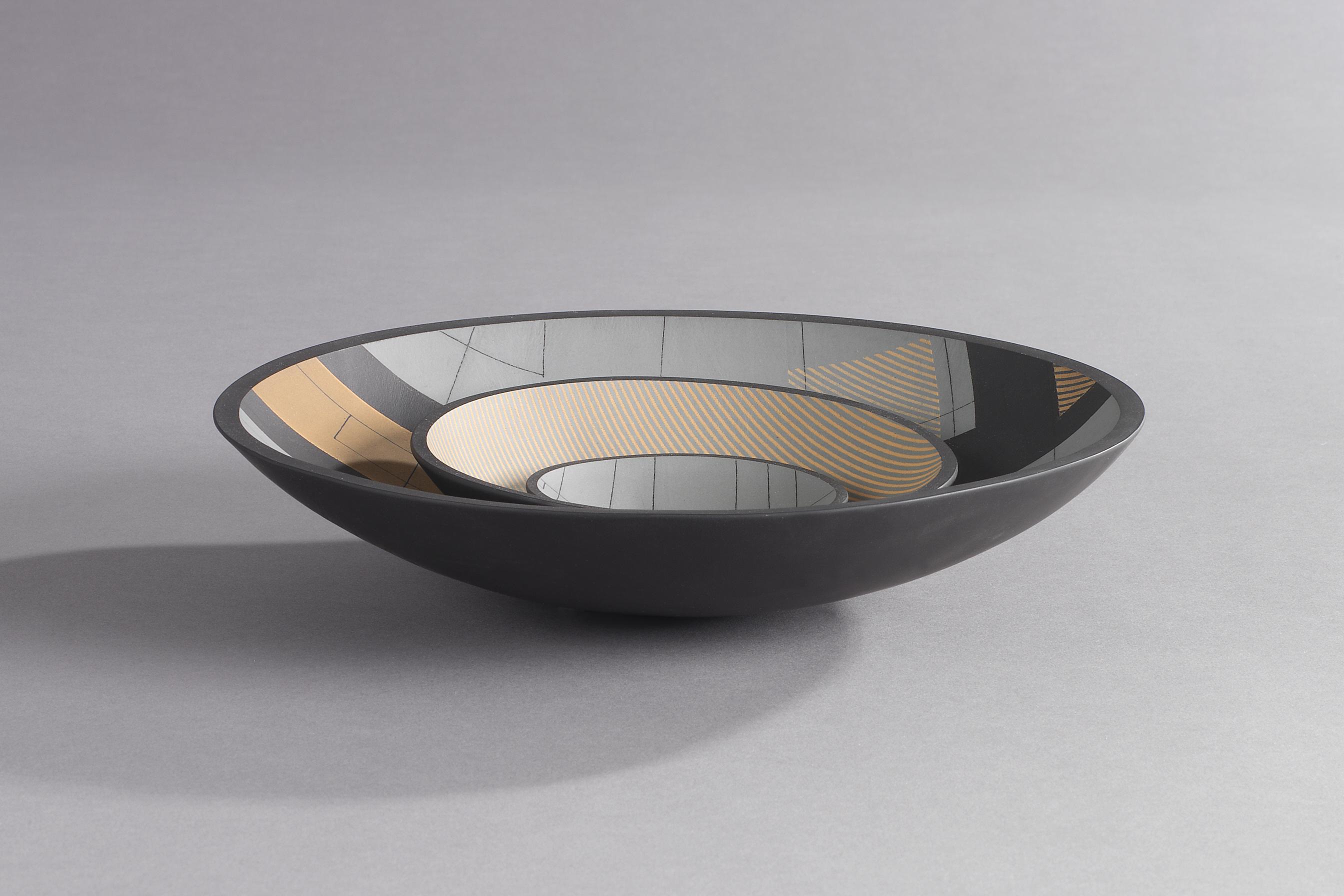 Three Bowls (black)