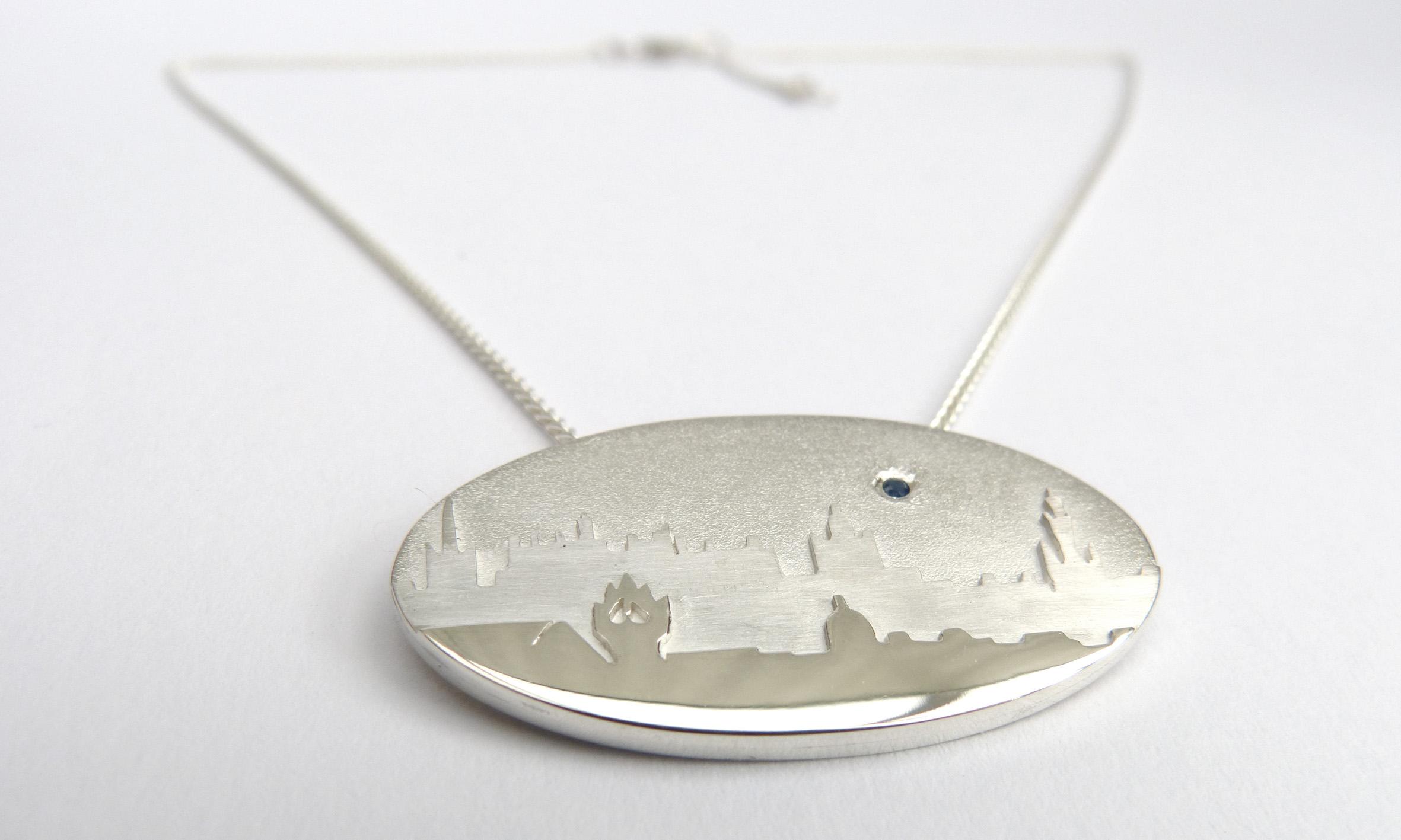 Edinburgh layered necklace