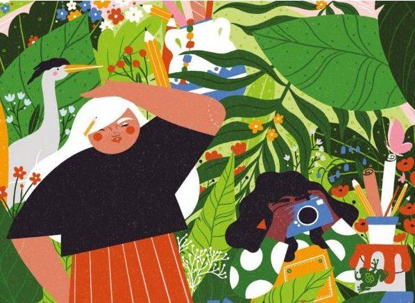 Spring Fling, illustration by Tara O'Brien