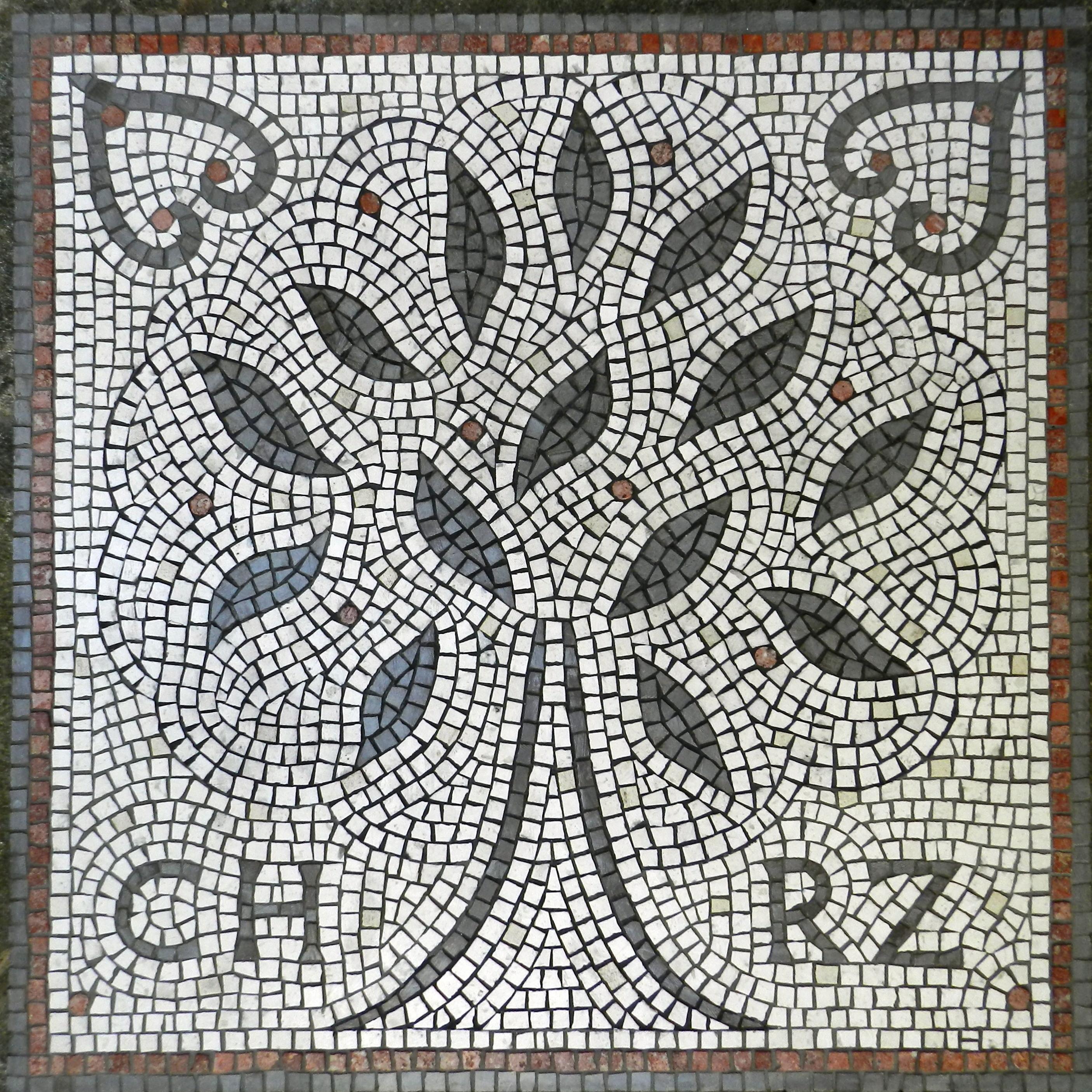 Hydra wedding mosaic