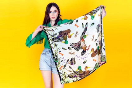 Helen Ruth Ducking and Diving Scarf