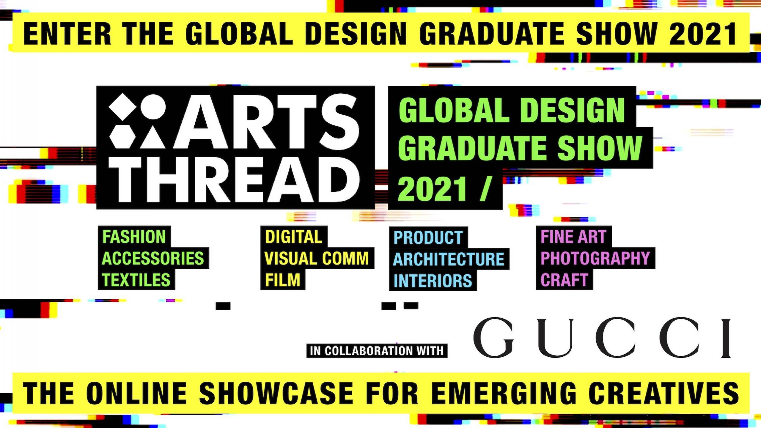 GLOBAL DESIGN GRADUATE SHOW 2021