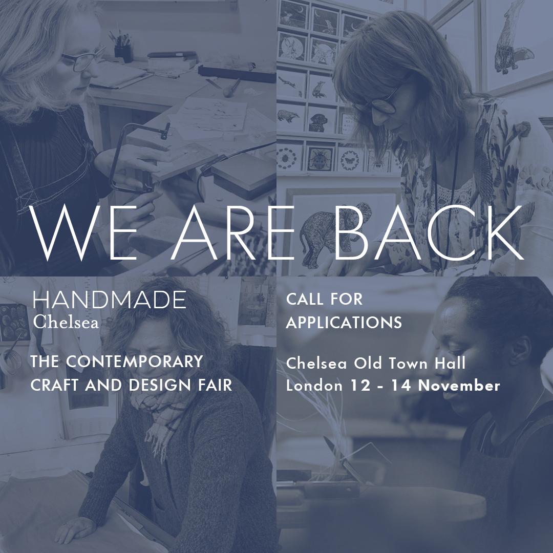Handmade Chelsea: The Contemporary Craft and Design Fair