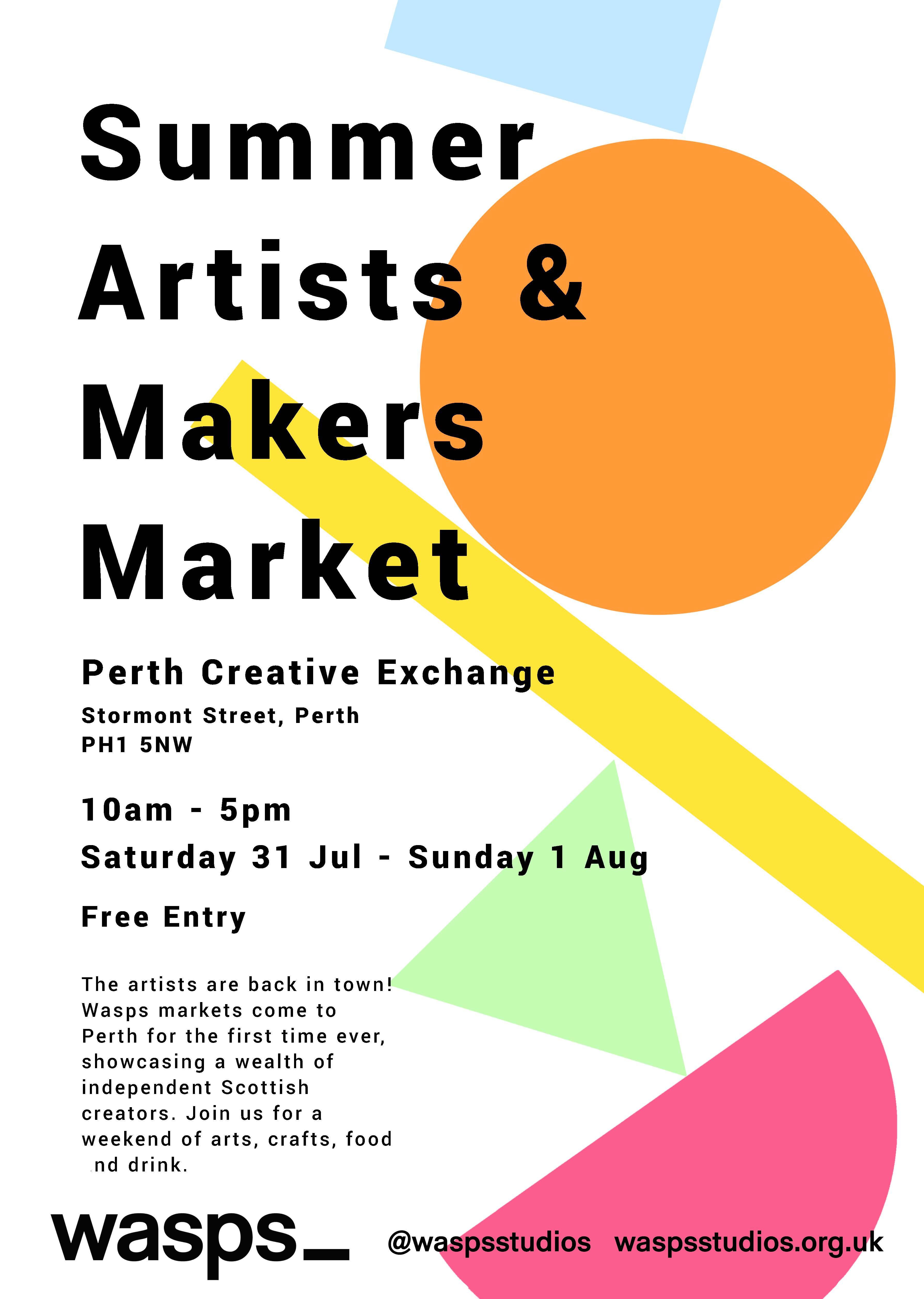 Wasps Summer Artists & Makers Market: Perth