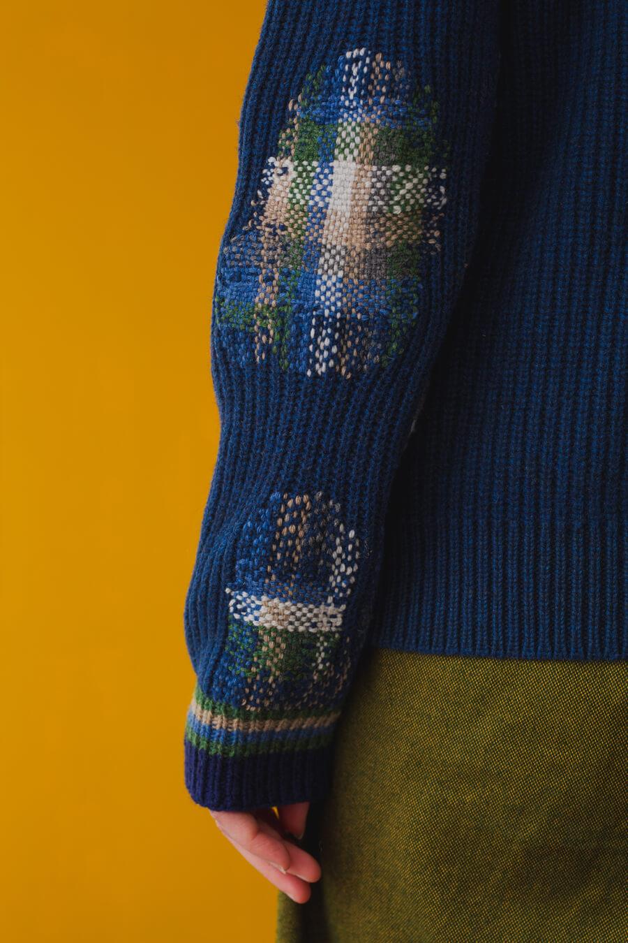 Darned Sweater