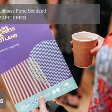 Culture & Business Fund Scotland MONTHLY SURGERIES
