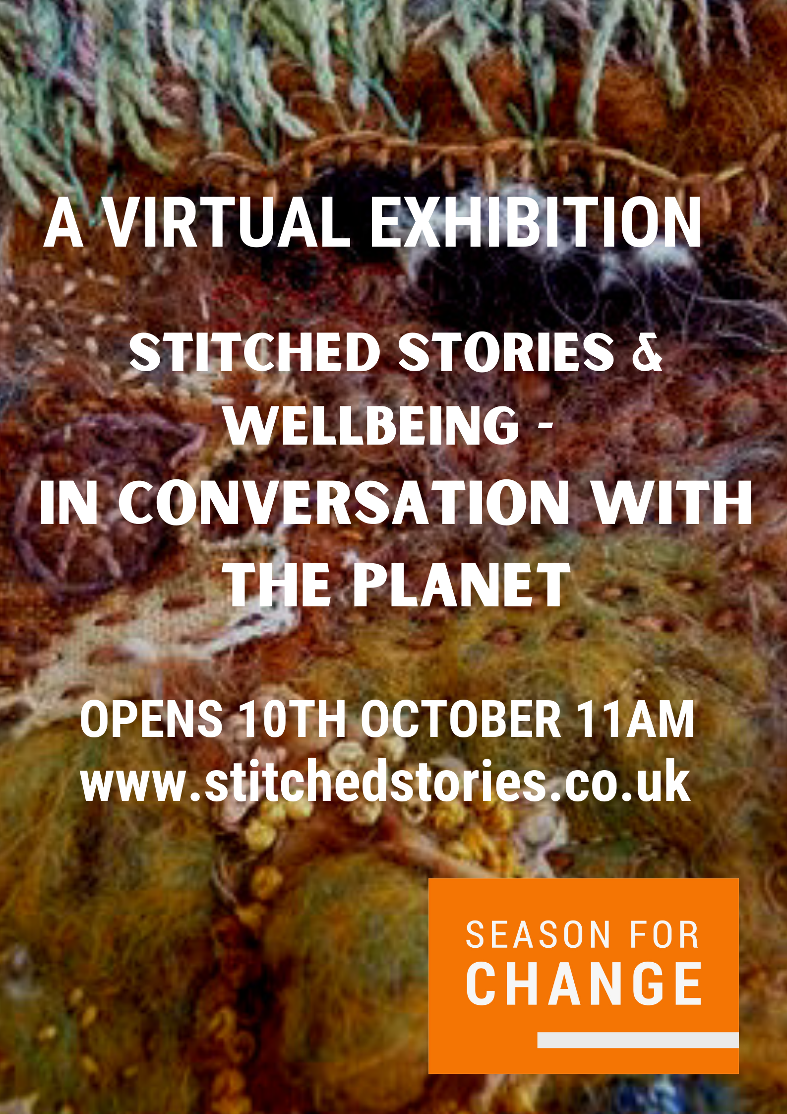 Stitched Stories & Wellbeing 'In Conversation with the Planet' #CraftWeekScotland