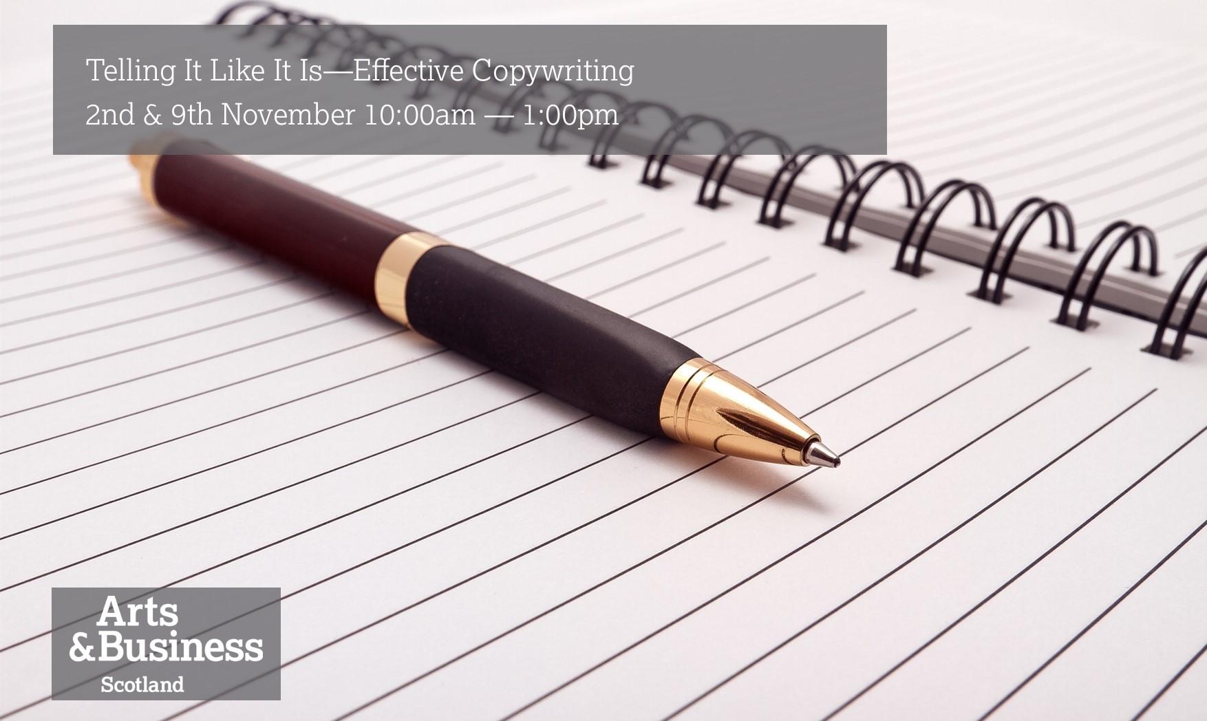 Telling It Like It Is – Effective Copywriting Image #0