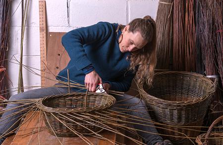 Craft Week Scotland - Associated Events - Anna Liebmann Basketweaver Open Studio (Eastfield,